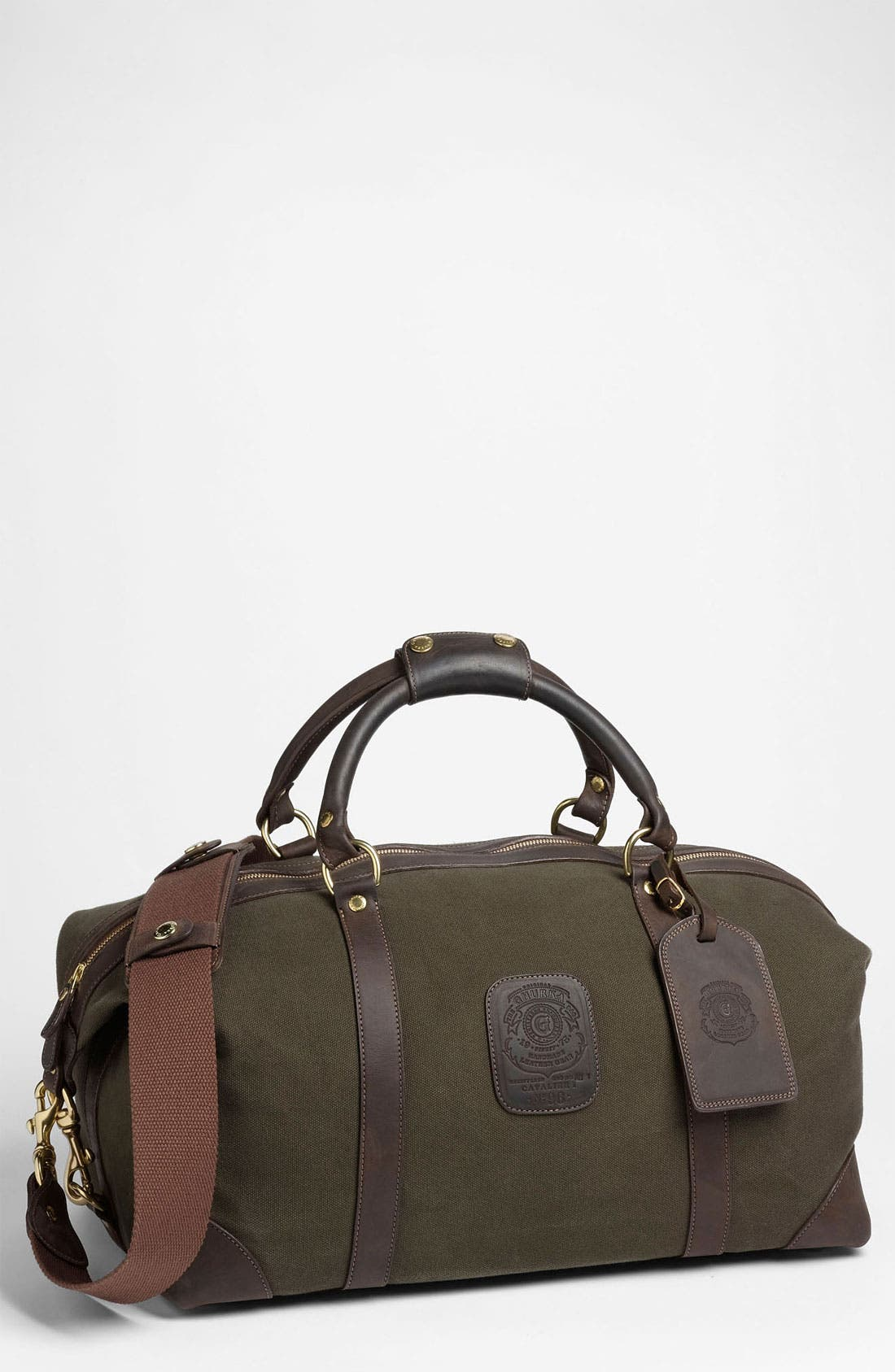 Alternate Image 1 Selected - Ghurka 'Cavalier I' Canvas Duffel Bag