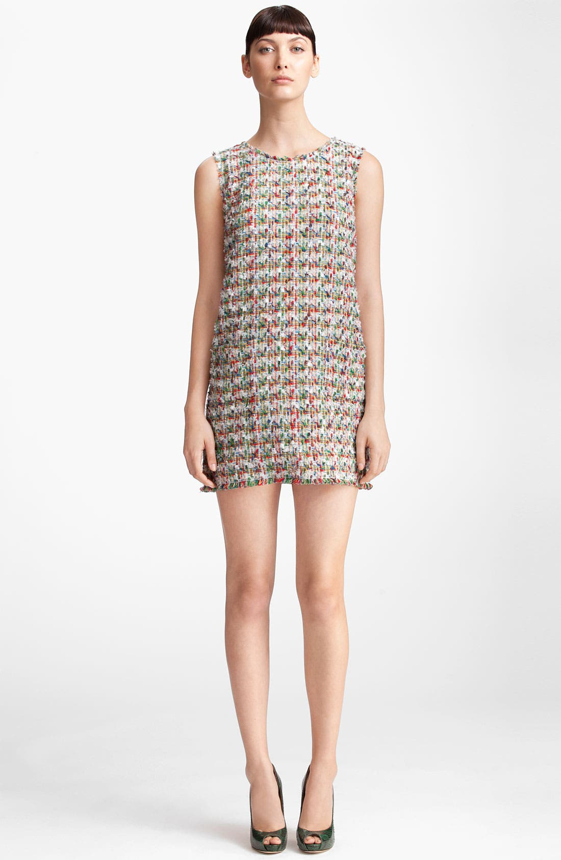Alternate Image 1 Selected - Dolce&Gabbana Sleeveless Tweed Dress