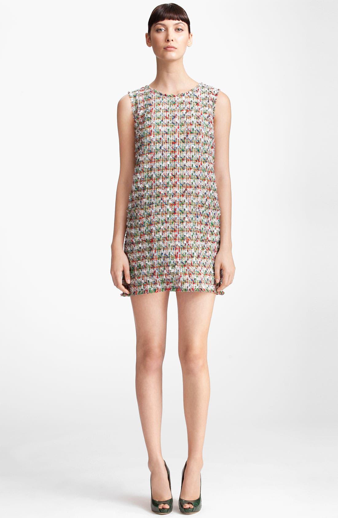 Main Image - Dolce&Gabbana Sleeveless Tweed Dress