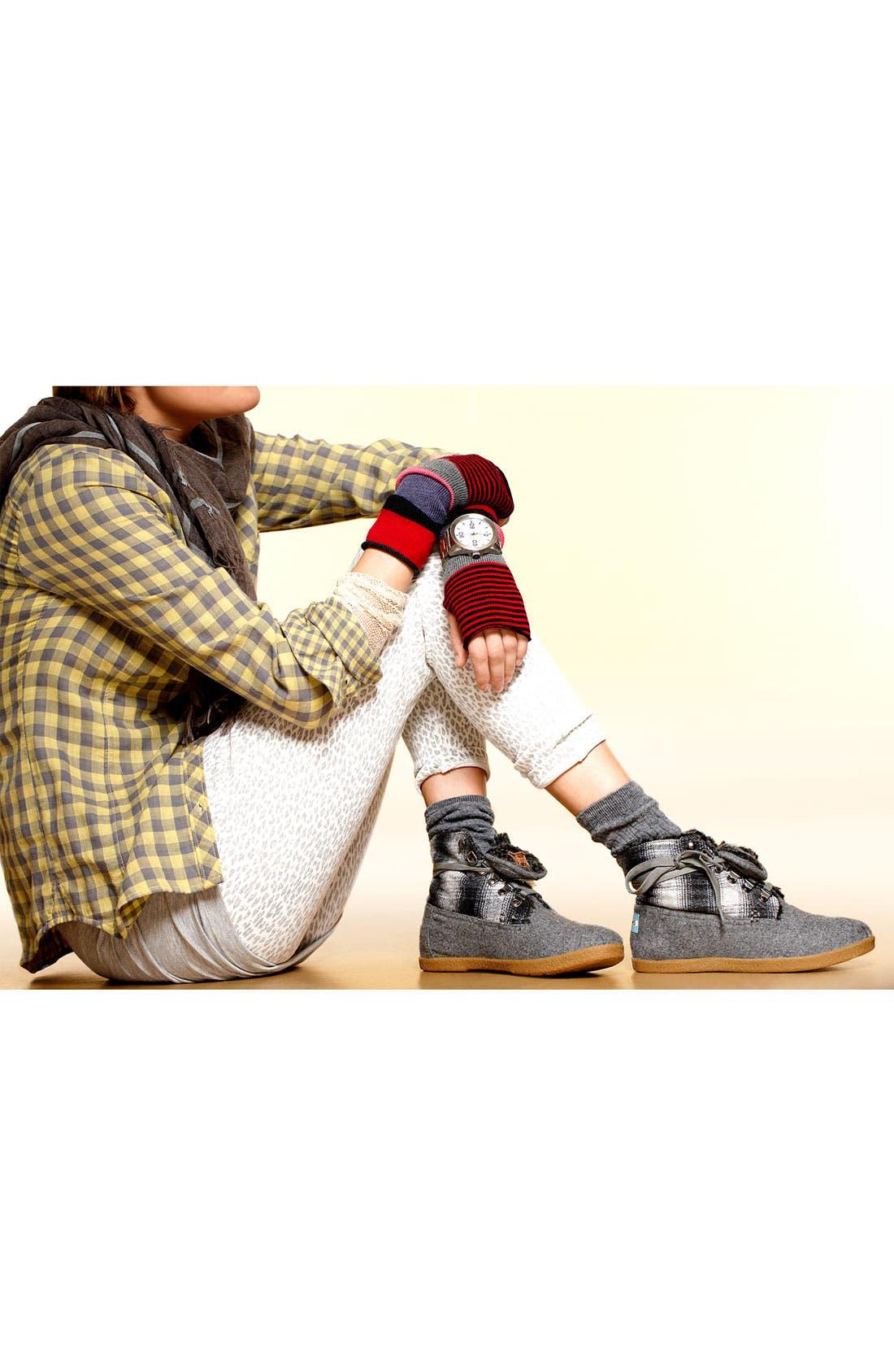 Alternate Image 5  - TOMS 'Botas - Mix Plaid' Boot (Women)