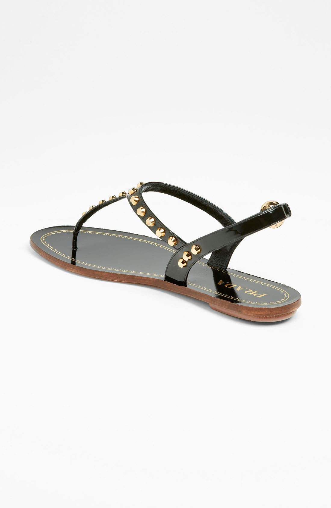 Alternate Image 2  - Prada Studded Thong Sandal