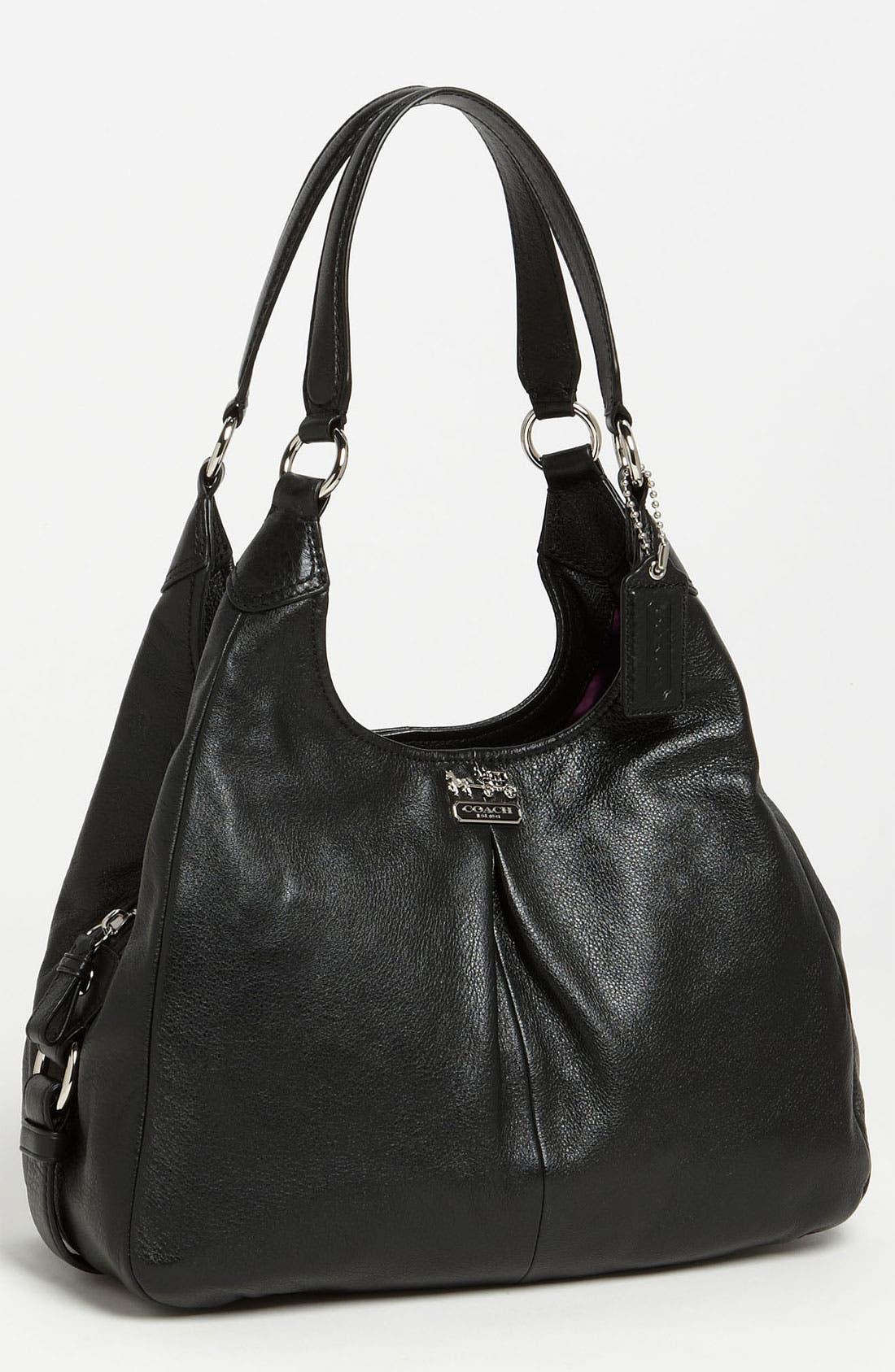 Main Image - COACH 'Madison - Maggie' Leather Hobo
