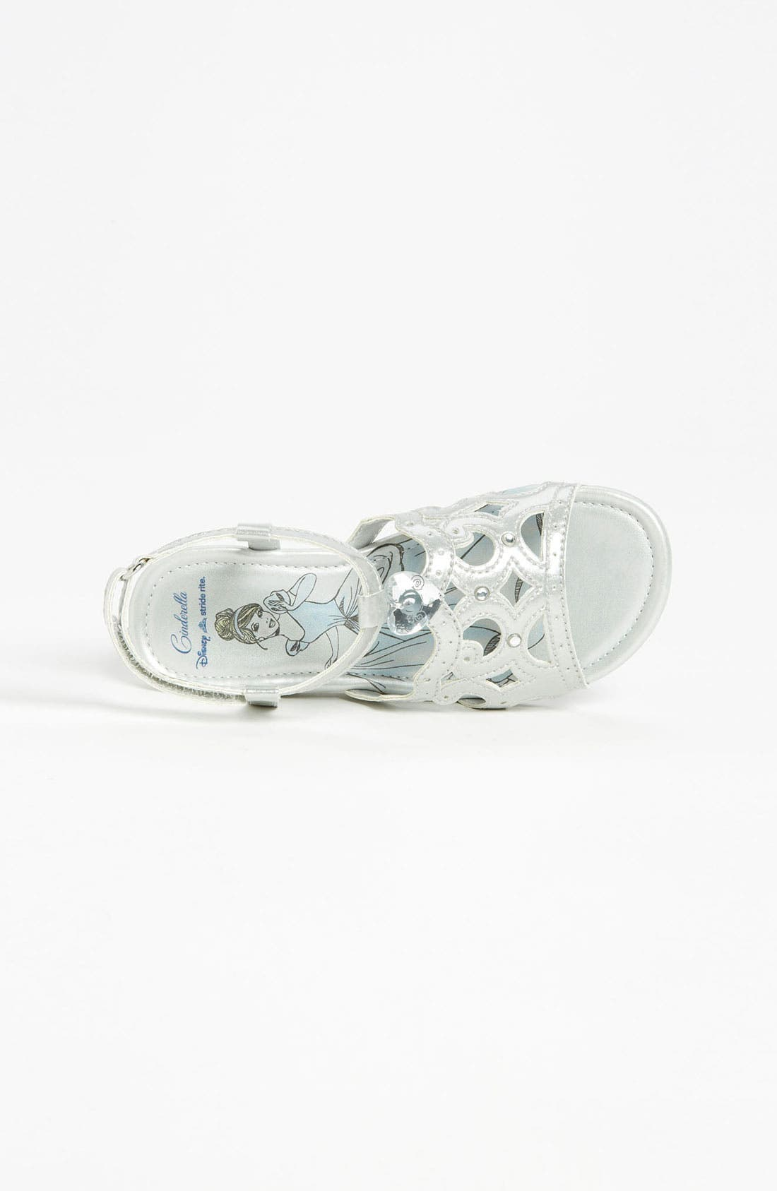 Alternate Image 3  - Stride Rite 'Disney - Crown' Sandal (Toddler)