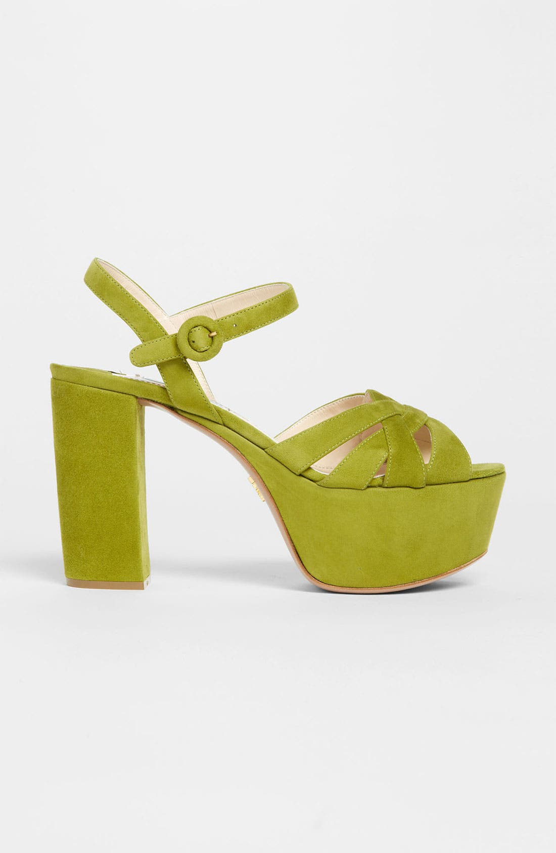 Alternate Image 4  - Prada Strap Platform Sandal