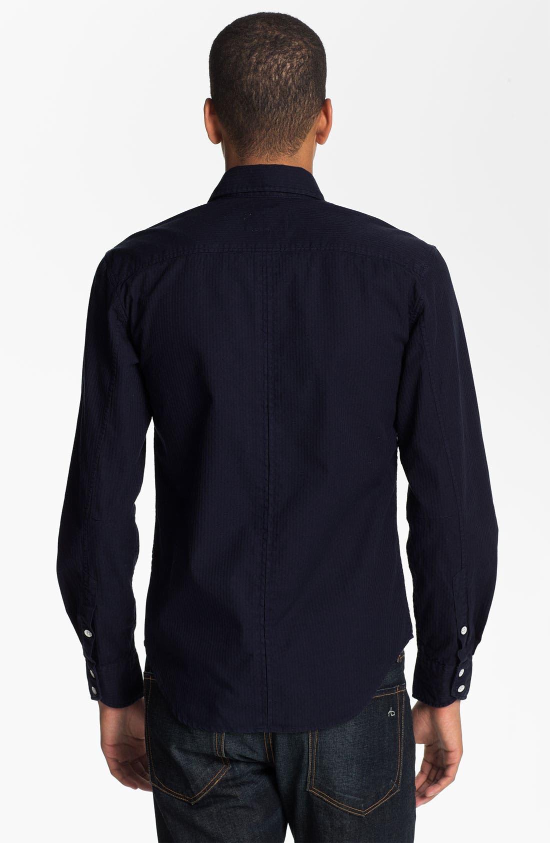 Alternate Image 2  - rag & bone 'Yokohama' Sport Shirt
