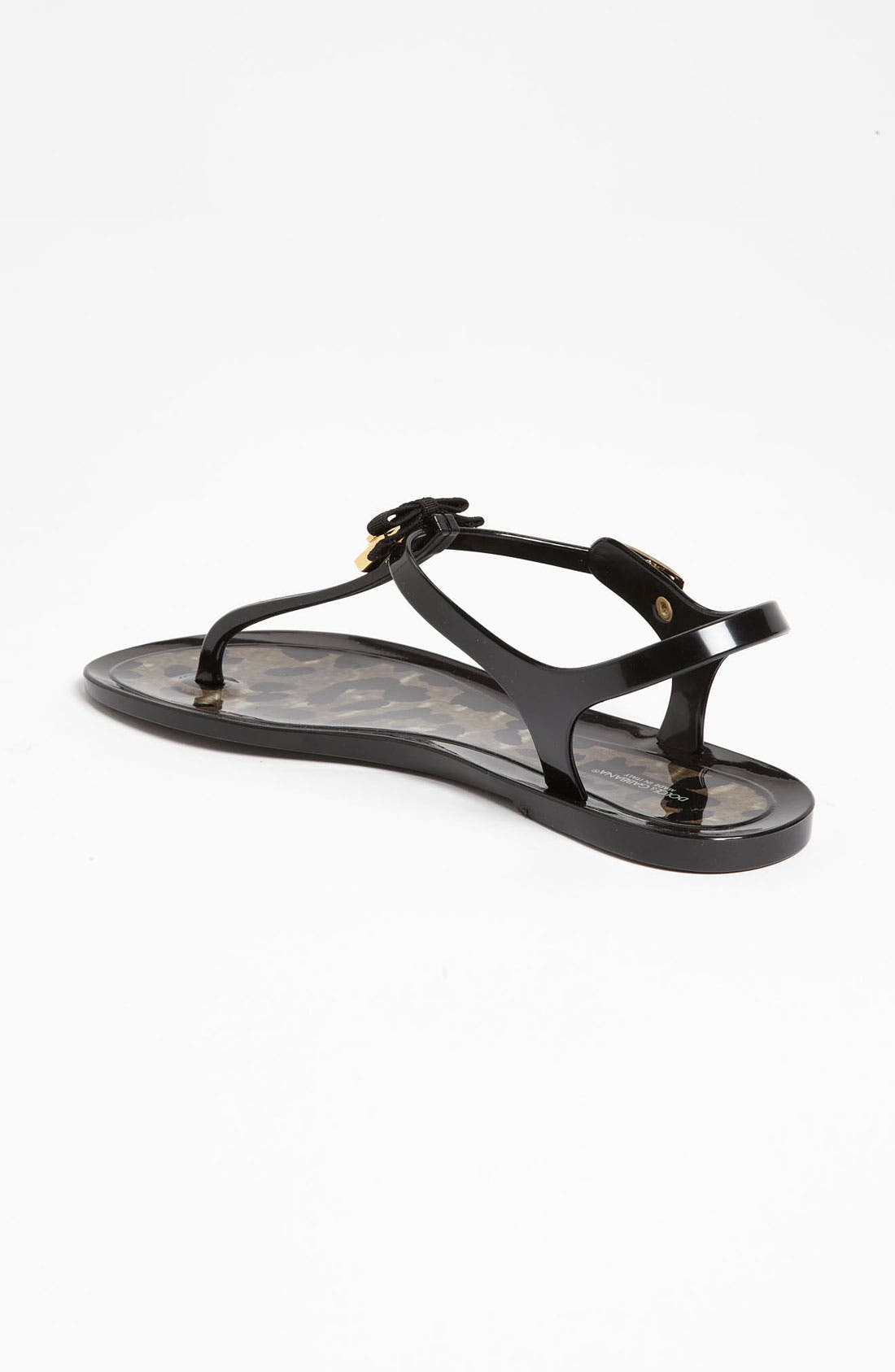 Alternate Image 2  - Dolce&Gabbana Jelly Thong Sandal