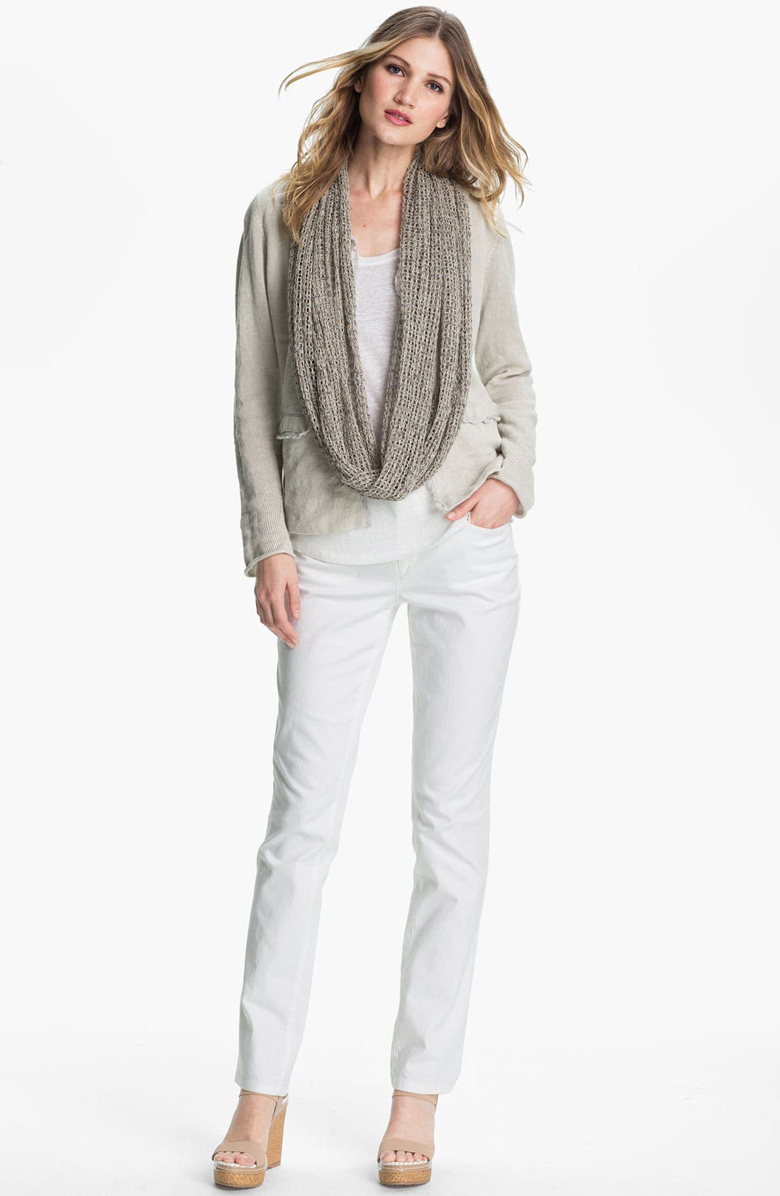 Alternate Image 4  - Eileen Fisher Metallic Jacket