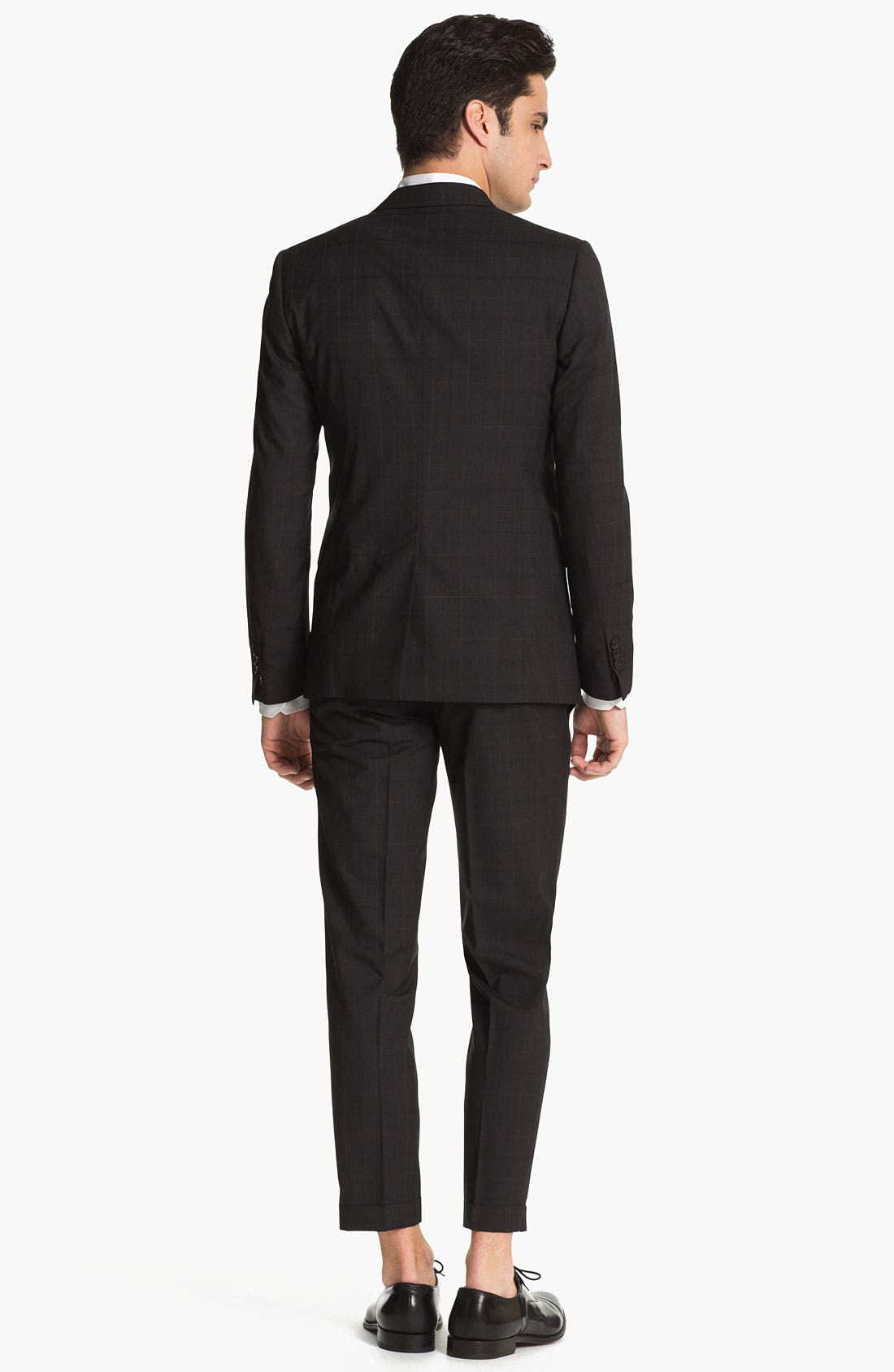 Alternate Image 3  - Dsquared2 Check Virgin Wool Suit