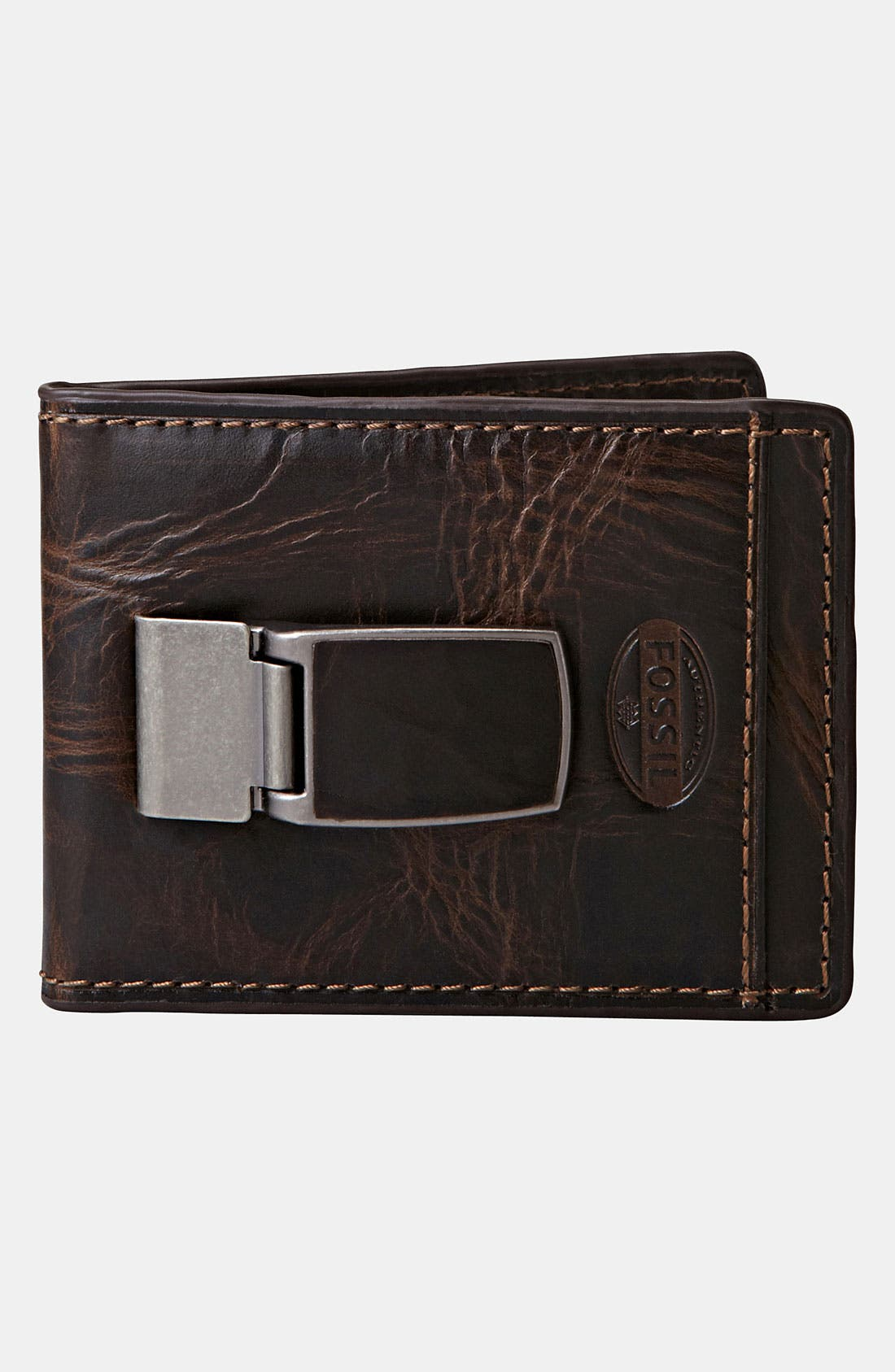 Alternate Image 4  - Fossil 'Norton' ID Bifold Wallet