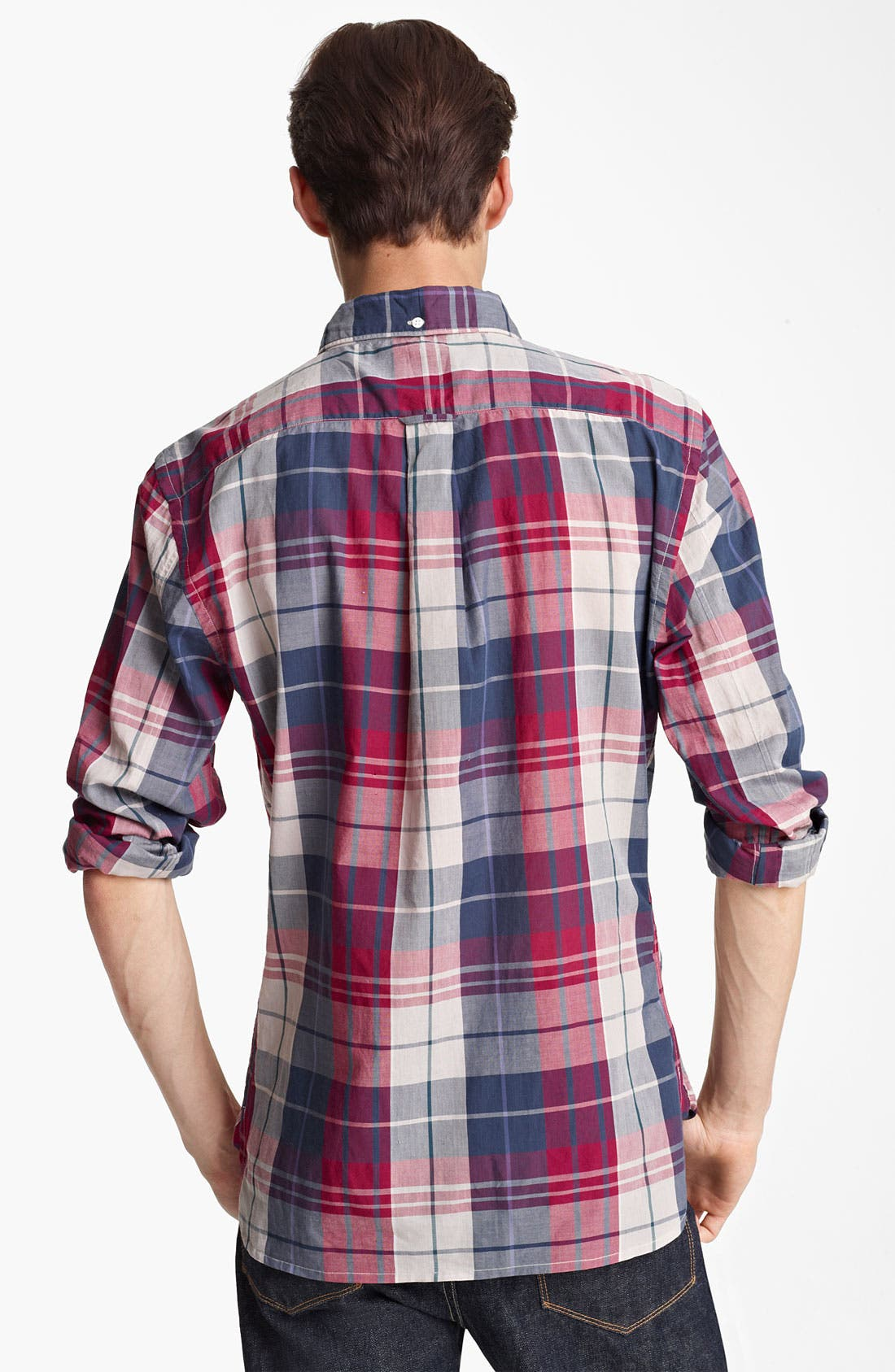Alternate Image 2  - Todd Snyder Plaid Woven Shirt