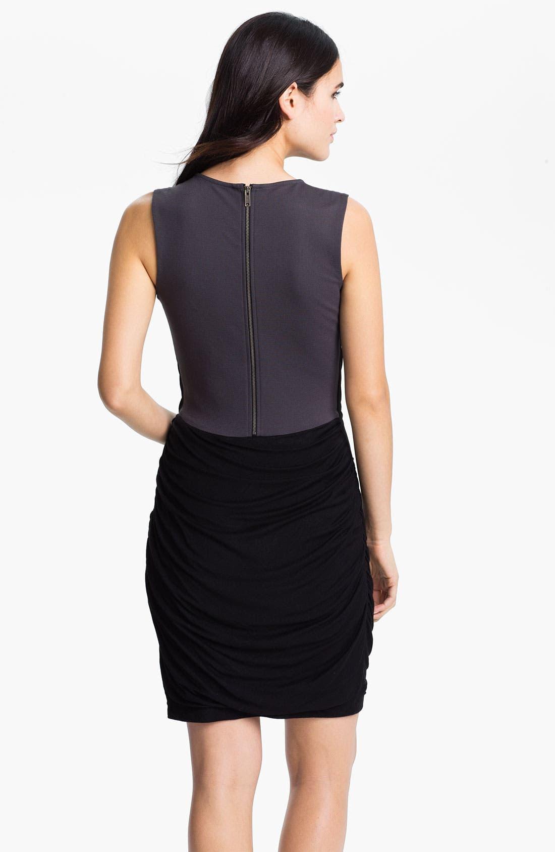Alternate Image 2  - DKNYC Draped Jersey Dress