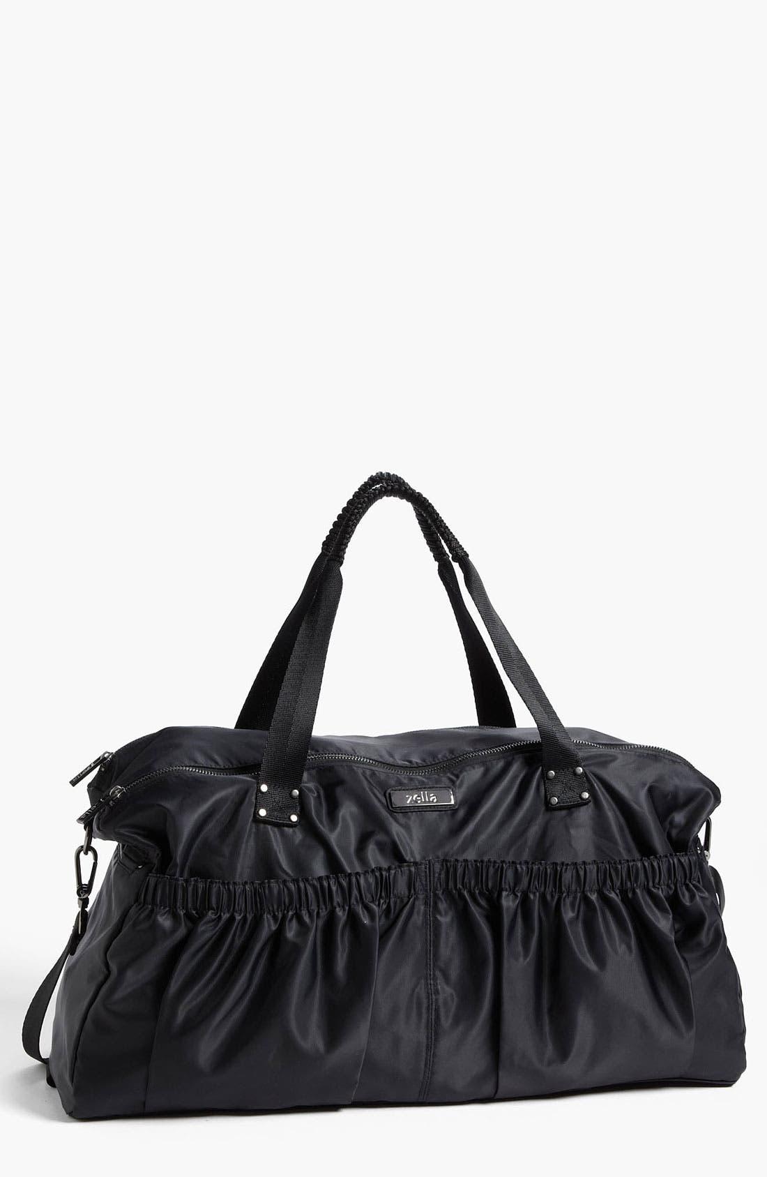 Main Image - Zella Pocketed Duffel Bag