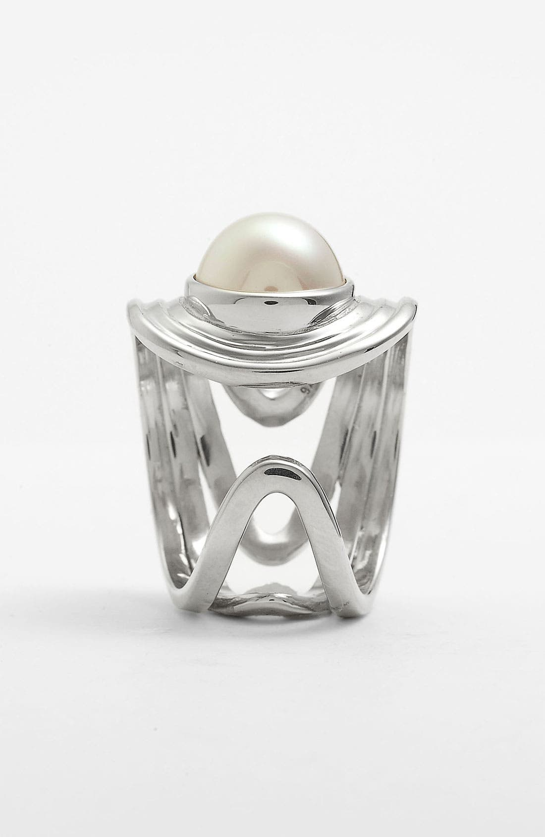 Alternate Image 2  - Majorica 10mm Pearl Ring