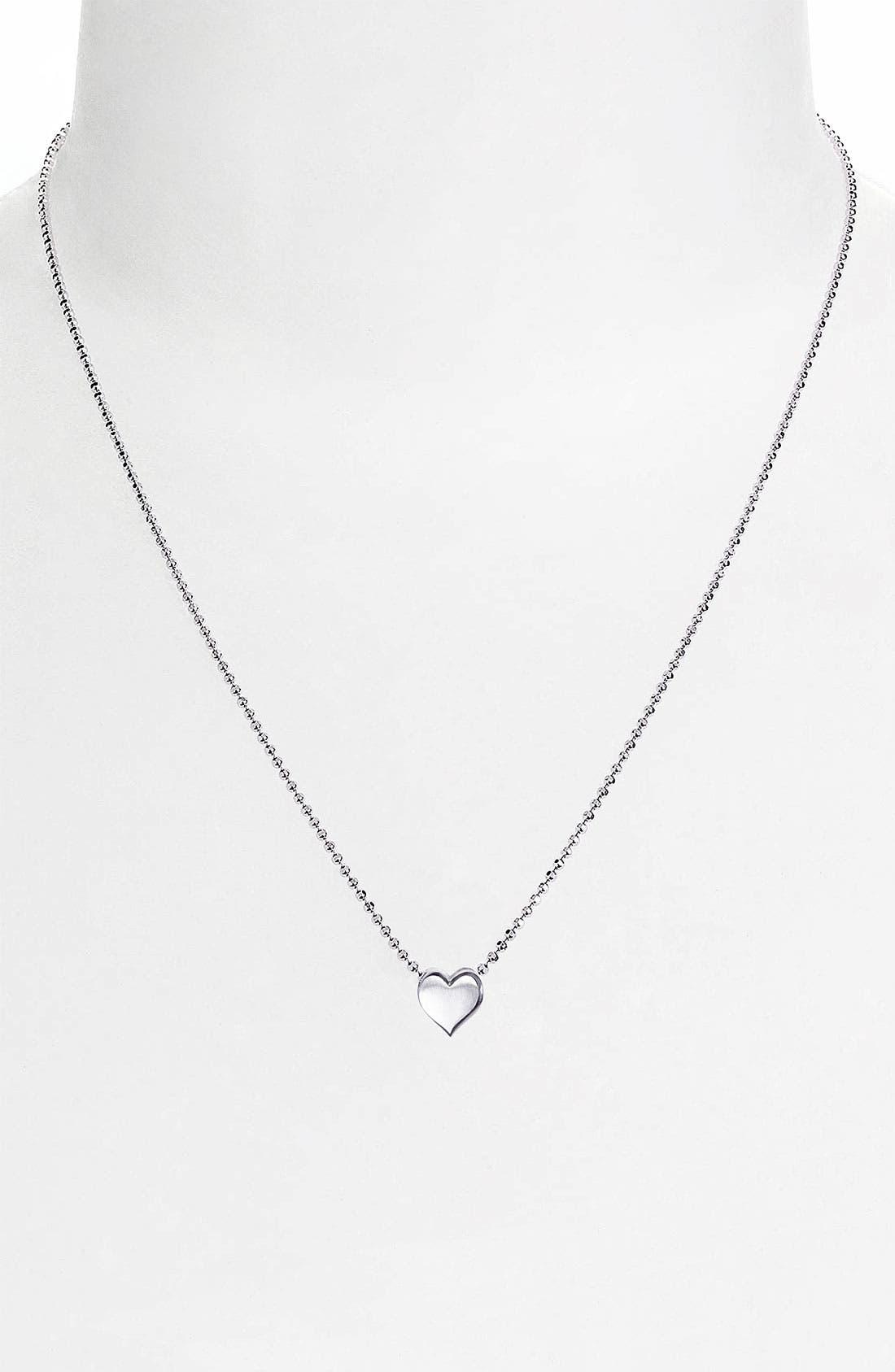 Alternate Image 2  - Alex Woo 'Little Vegas' Heart Pendant Necklace
