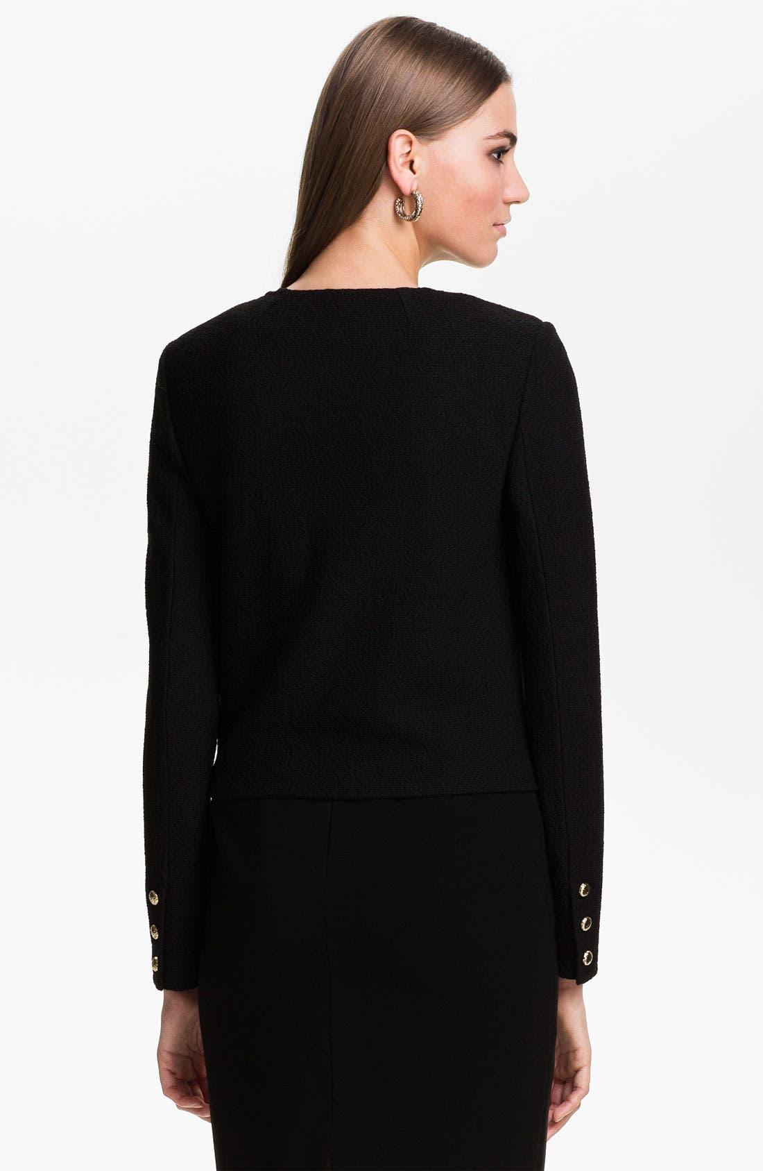 Alternate Image 4  - St. John Collection Bouclé Knit Jacket