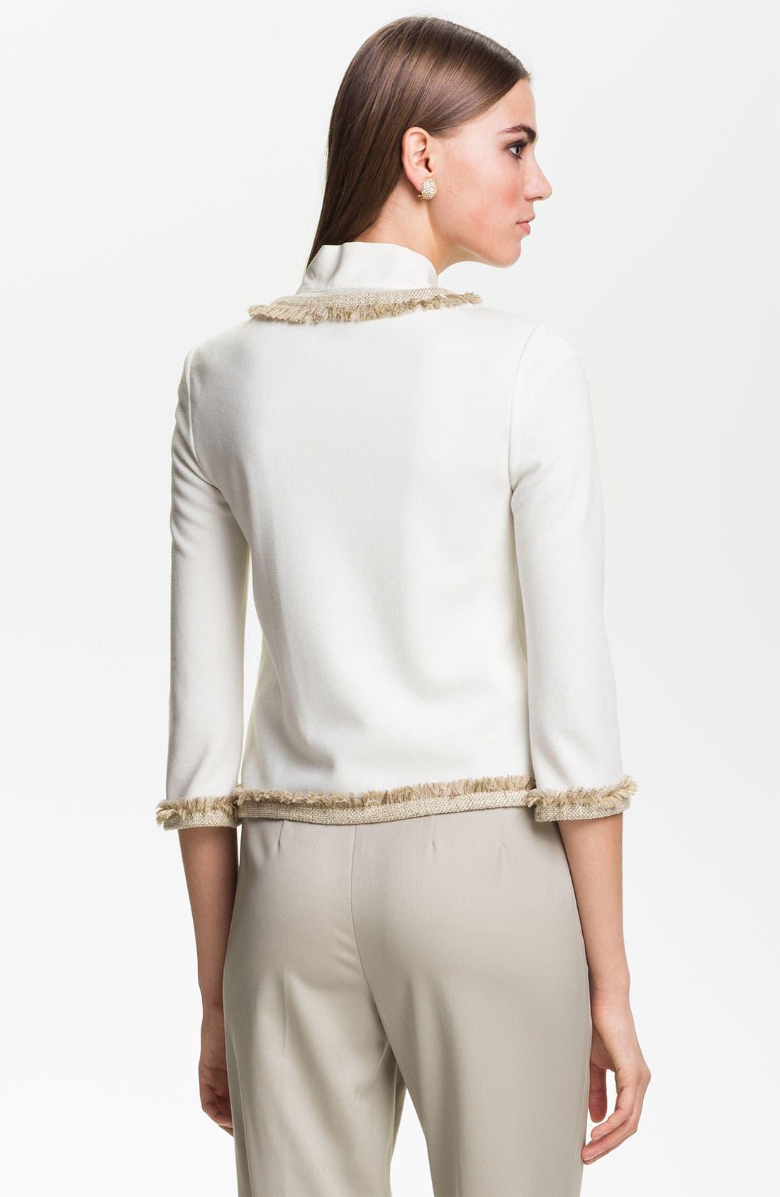 Alternate Image 4  - St. John Collection Milano Knit Jacket