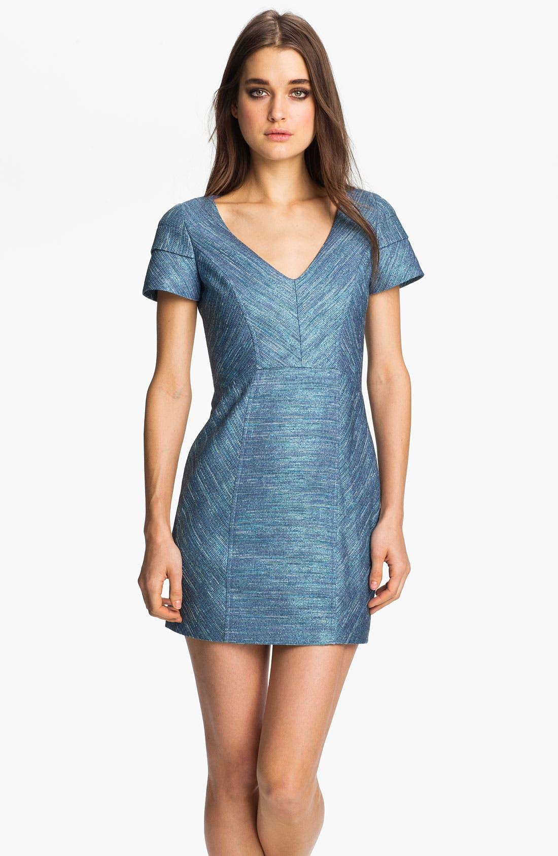 Alternate Image 1 Selected - Rebecca Minkoff 'Katya' Tweed Dress