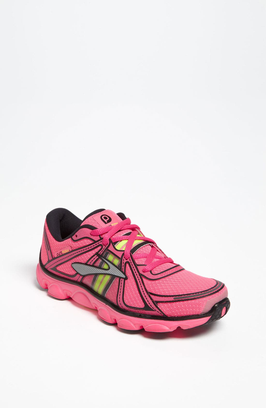 Alternate Image 1 Selected - Brooks 'Pureflow' Athletic Shoe (Toddler, Little Kid & Big Kid)