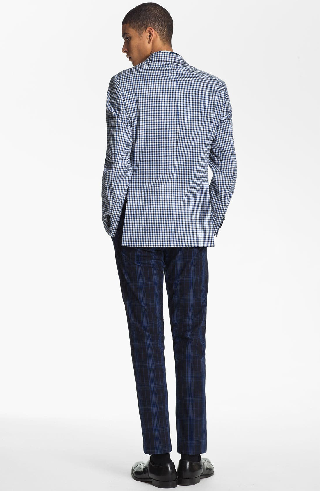 Alternate Image 5  - Etro 'Minerva' Gingham Blazer