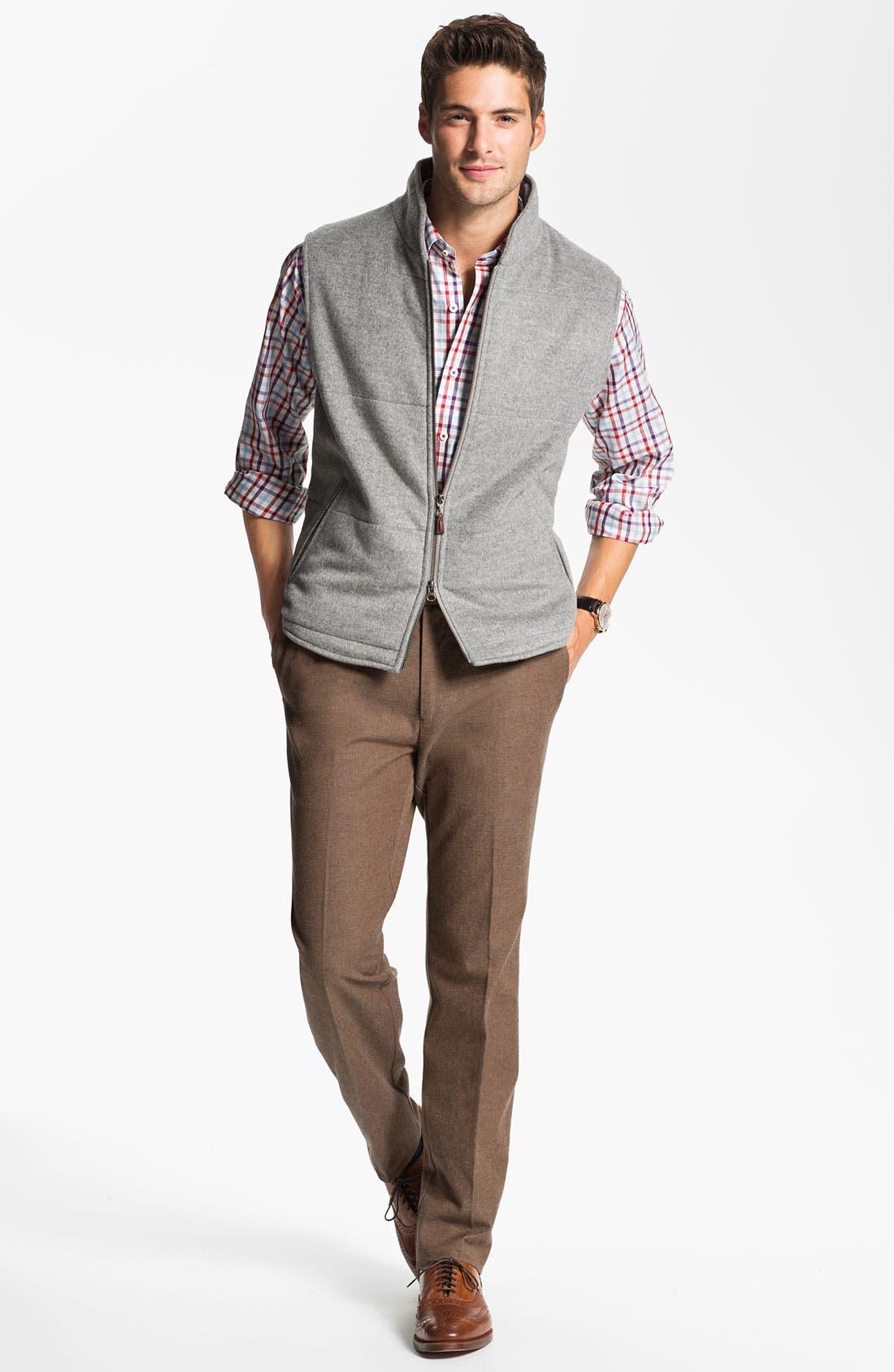 Alternate Image 1 Selected - Peter Millar Vest, Sport Shirt & Trousers