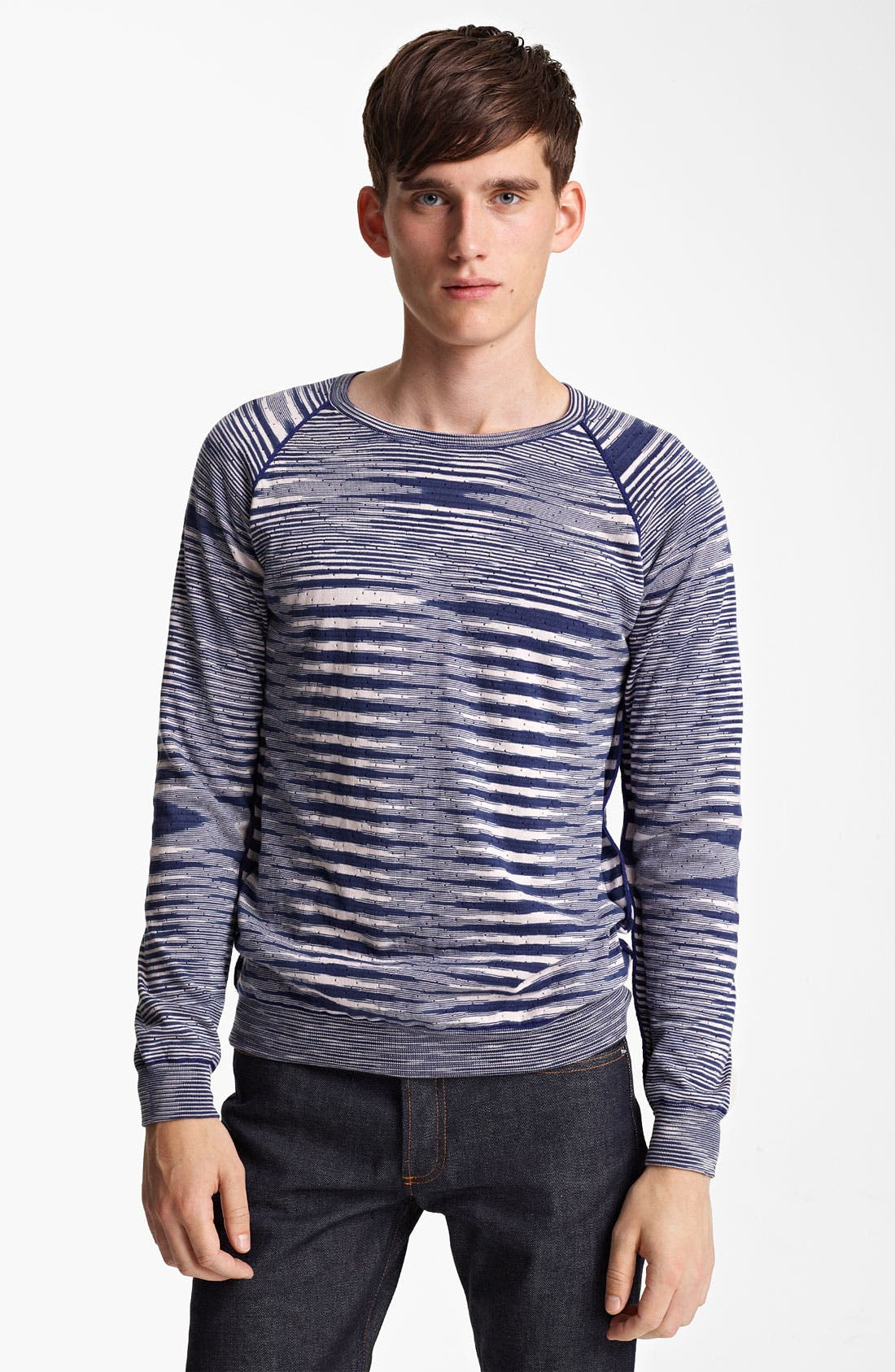 Alternate Image 1 Selected - Missoni Reversible Crewneck Sweater
