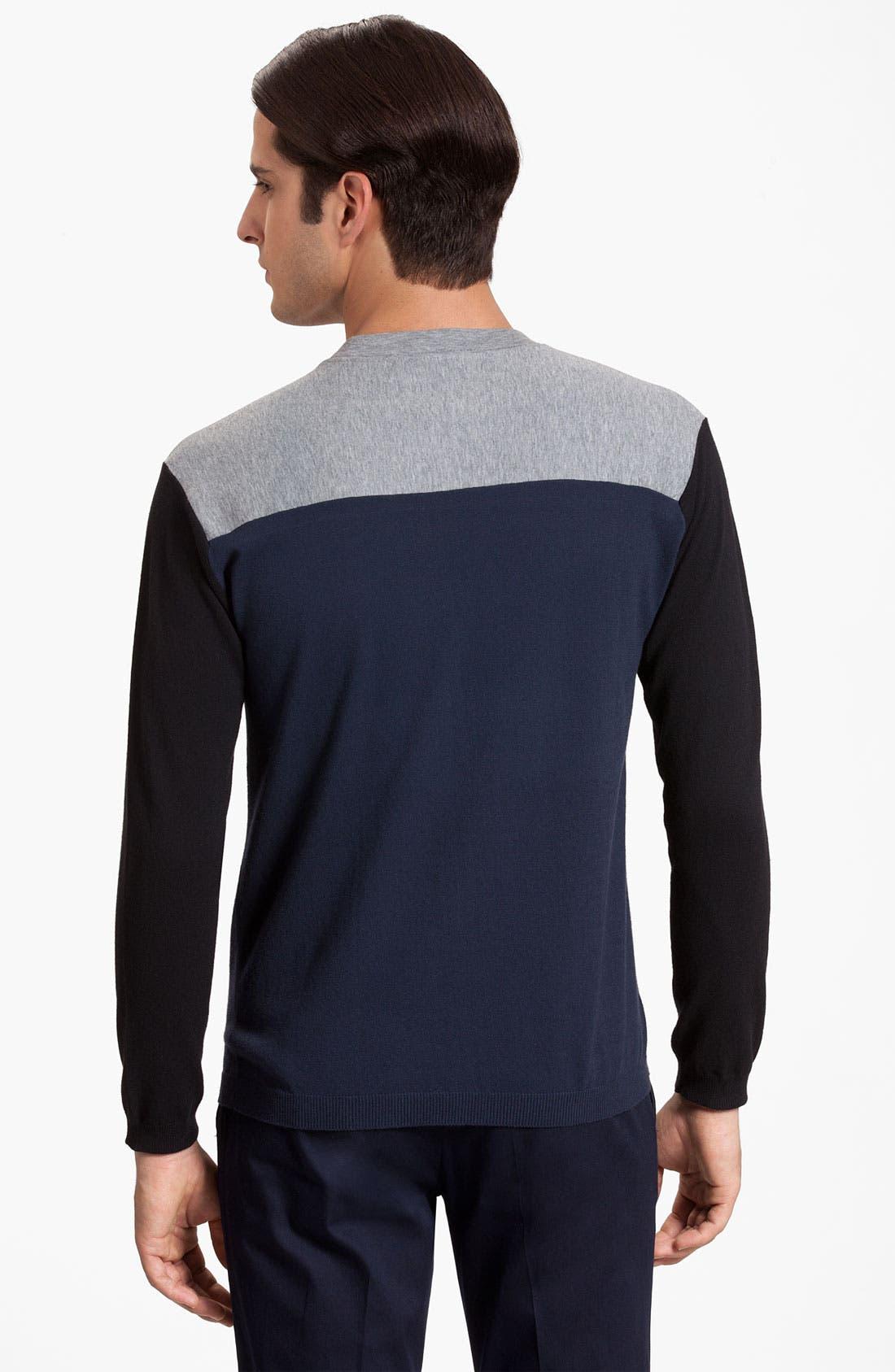Alternate Image 2  - Marni Colorblock Crewneck Sweater