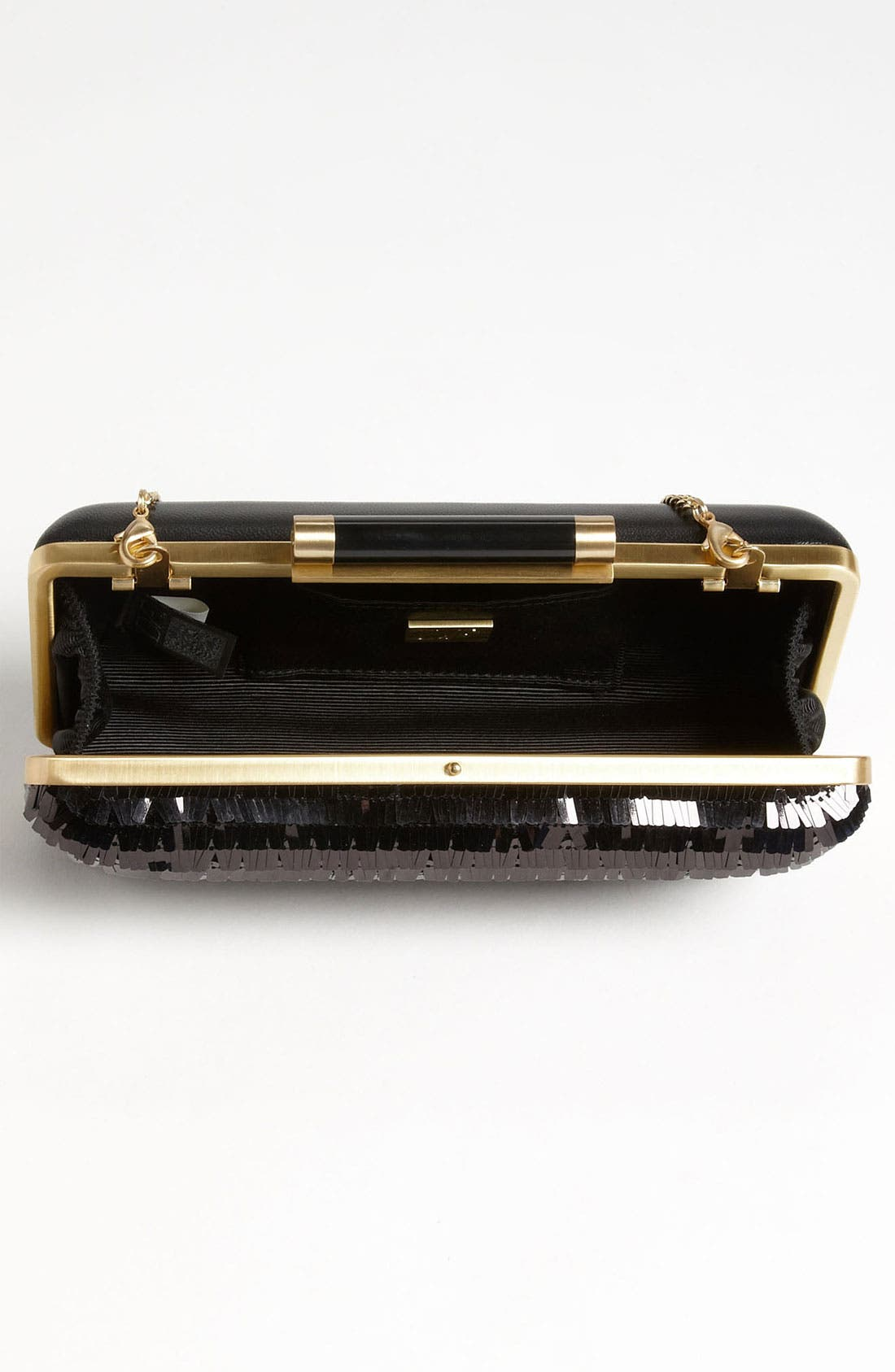 Alternate Image 3  - Diane von Furstenberg 'Tonda - Large' Sequin & Leather Clutch
