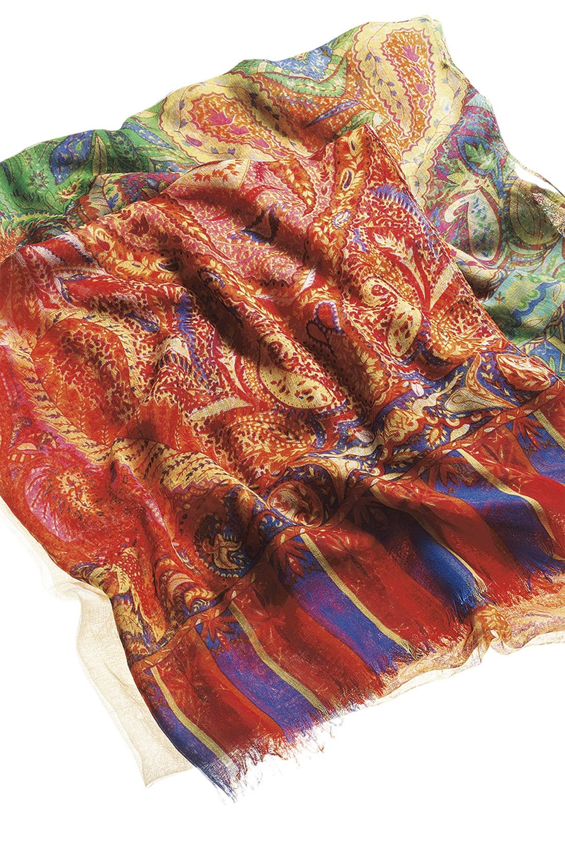 Alternate Image 2  - Tasha 'Polished Paisley' Scarf