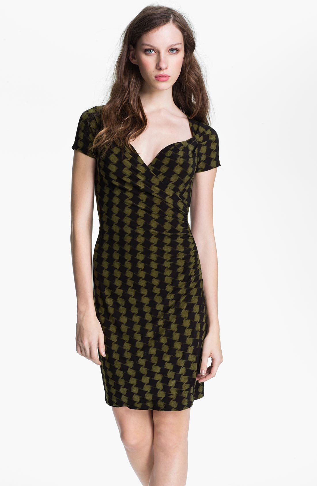 Main Image - KAMALIKULTURE Sweetheart Faux Wrap Dress