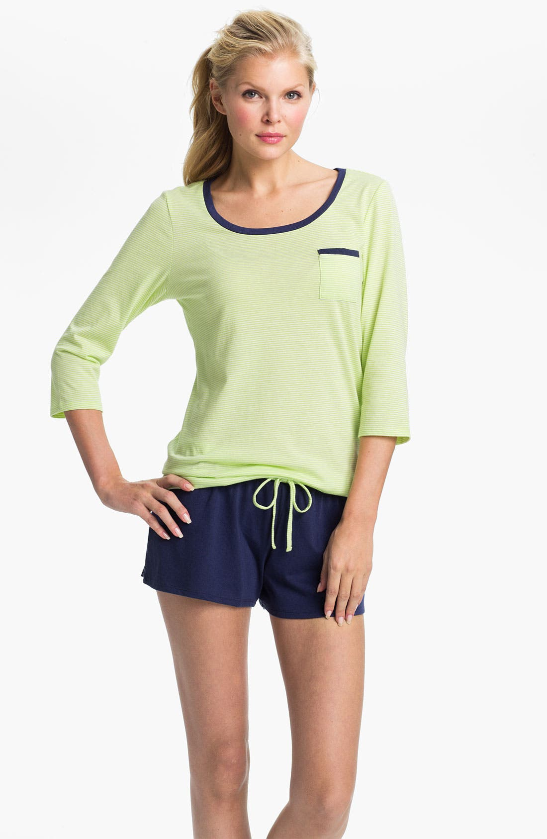 Alternate Image 1 Selected - Nordstrom 'Prep' Short Pajamas