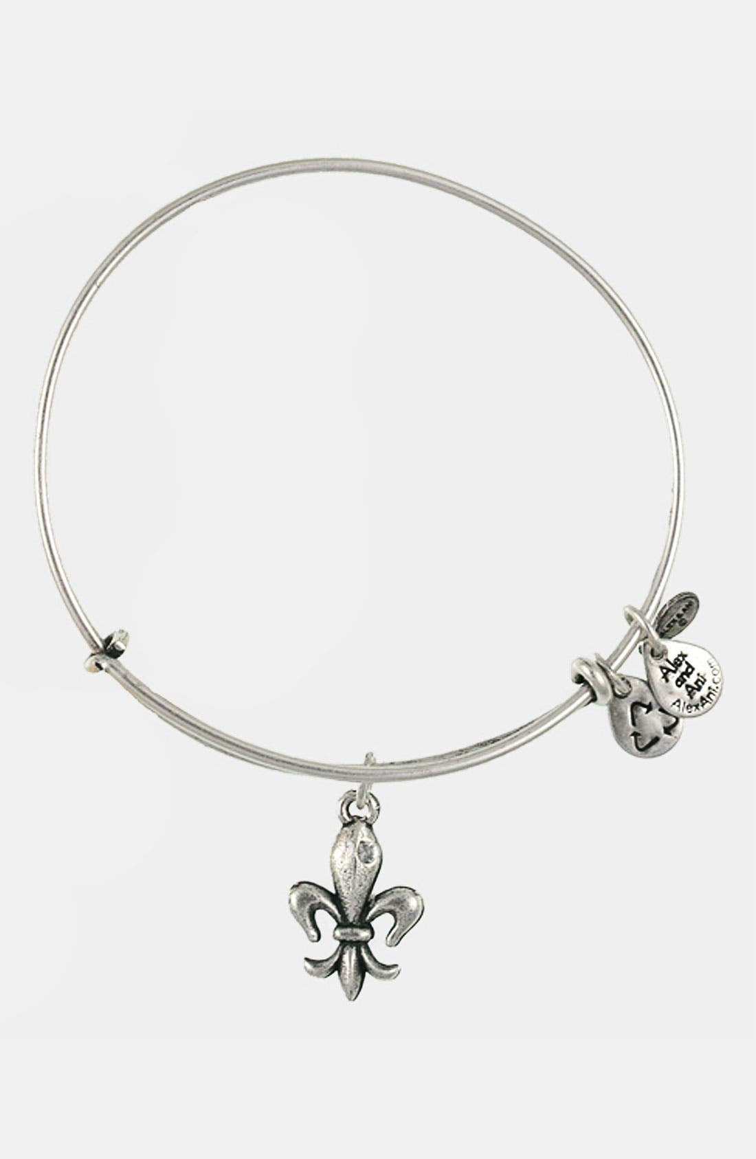 Alternate Image 1 Selected - Alex and Ani 'French Royalty' Expandable Wire Bracelet