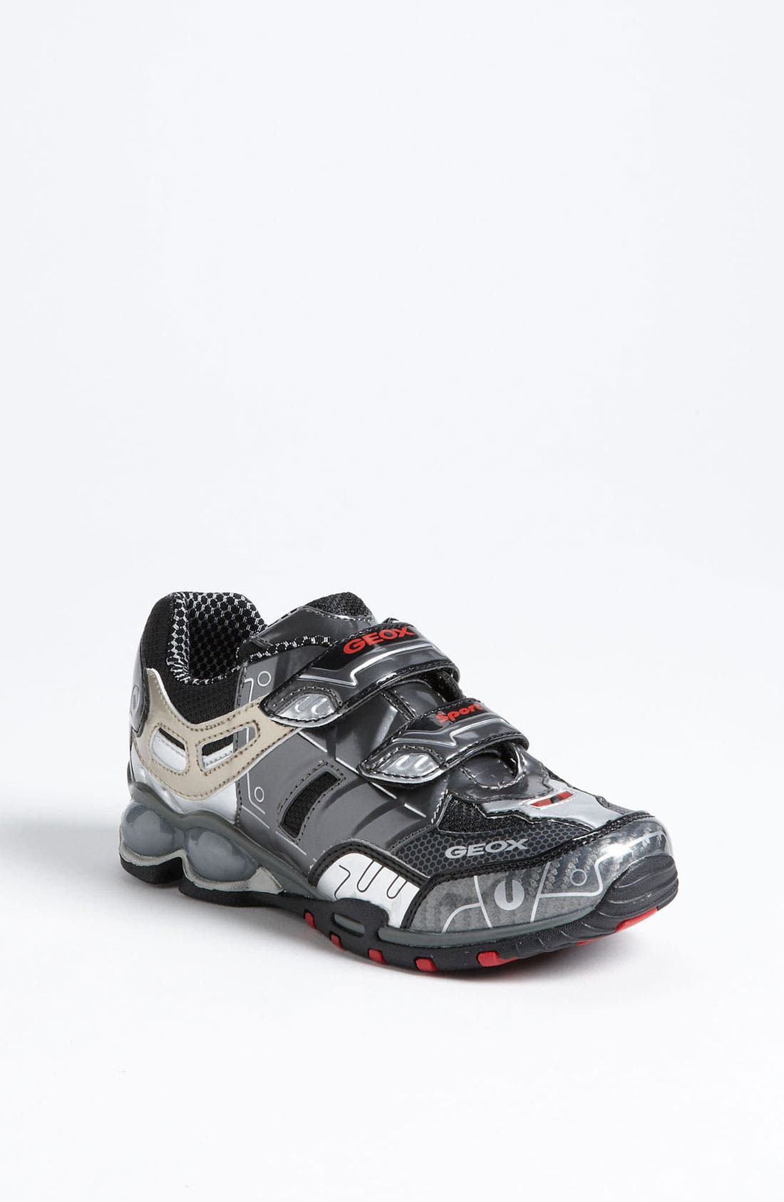 Alternate Image 1 Selected - Geox 'Fighter' Light-Up Sneaker (Toddler, Little Kid & Big Kid)