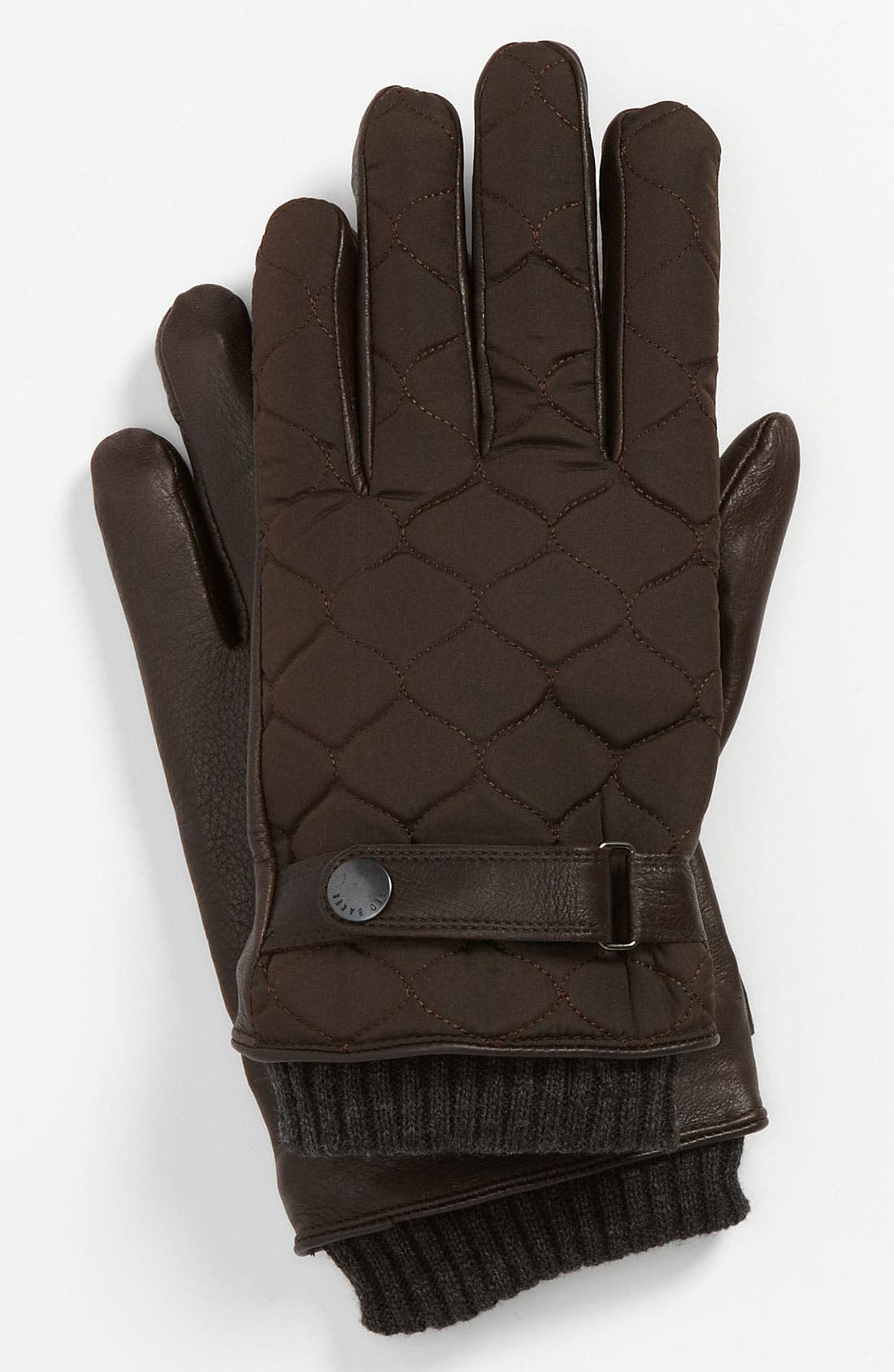 Alternate Image 1 Selected - Ted Baker London Quilted Gloves