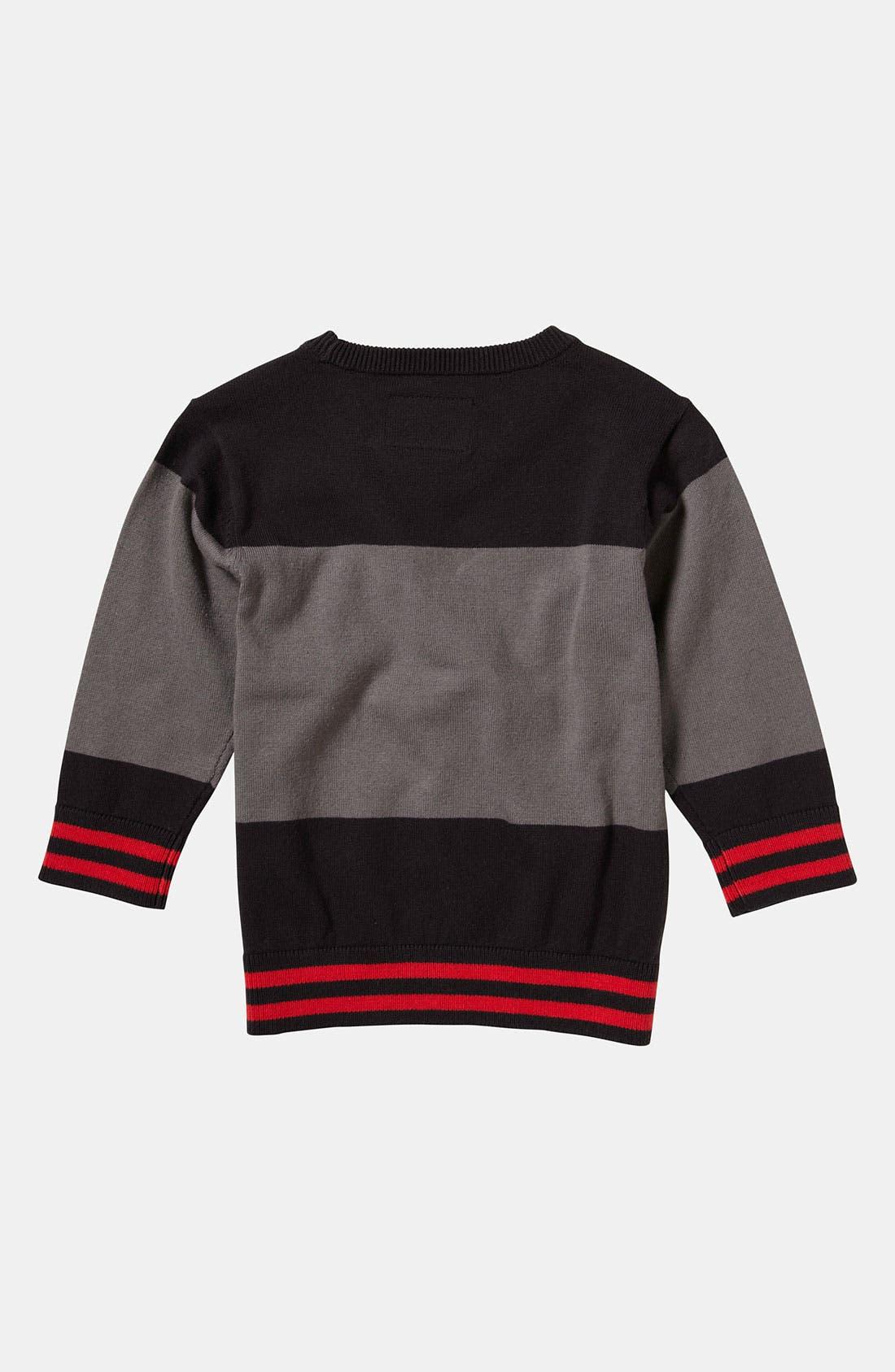 Alternate Image 2  - Quiksilver 'Wild Card' Sweater (Toddler)