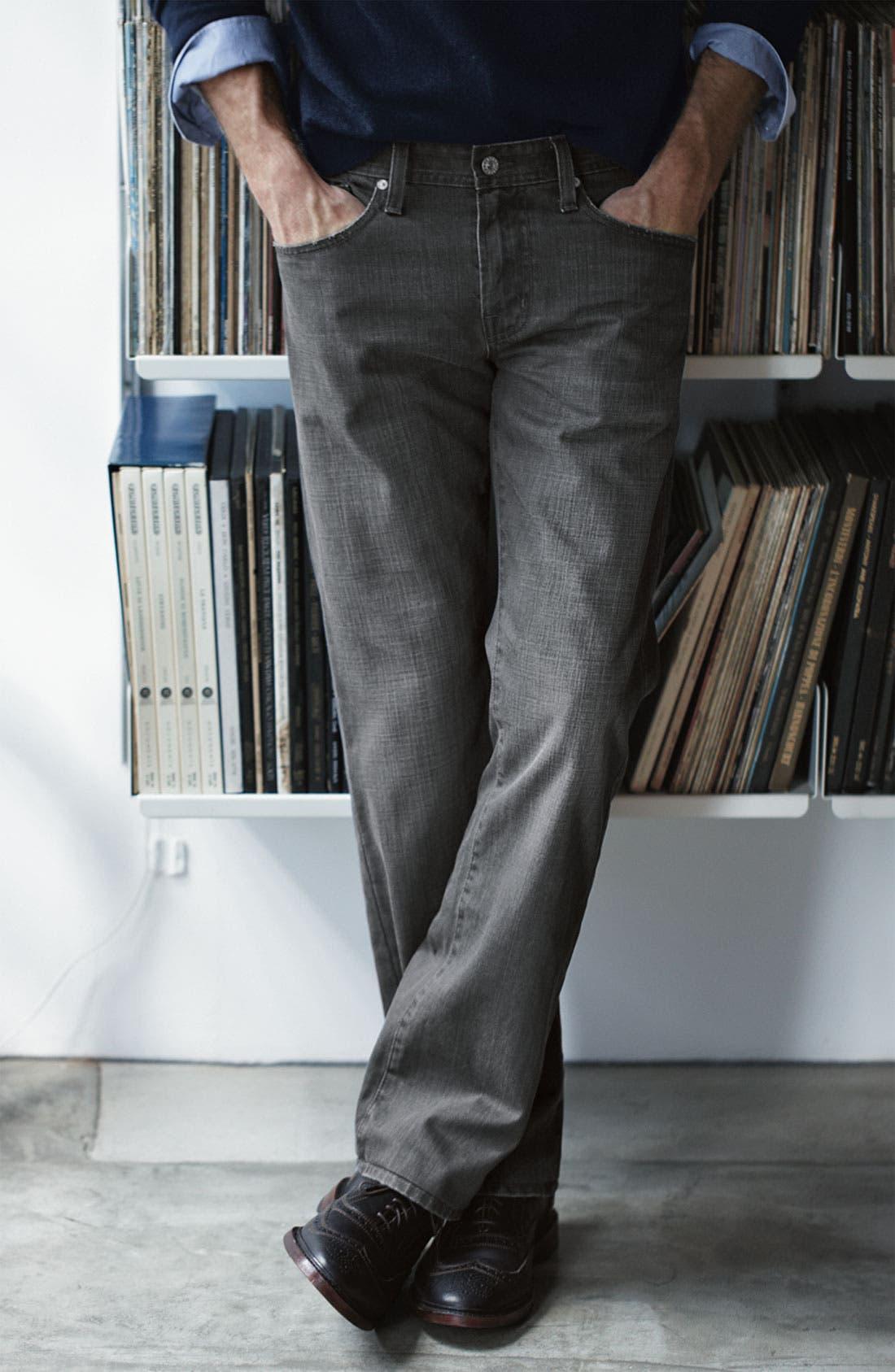 Alternate Image 5  - AG Jeans 'Protégé' Straight Leg Jeans (Cooper)