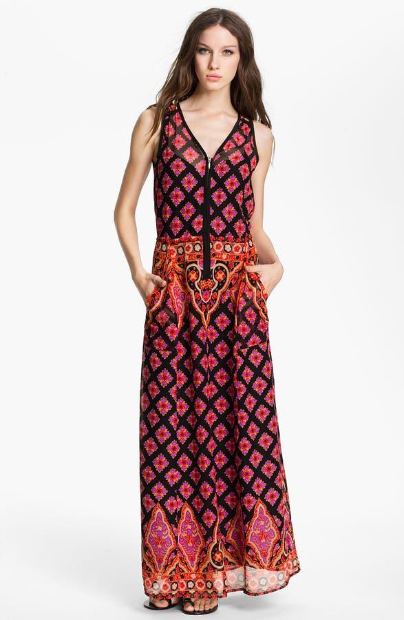 Main Image Nanette Lepore Electrifying Silk Maxi Dress