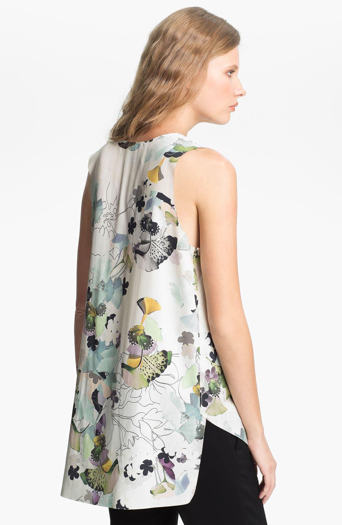 Alternate Image 2  - 3.1 Phillip Lim Print Stretch Silk Blouse