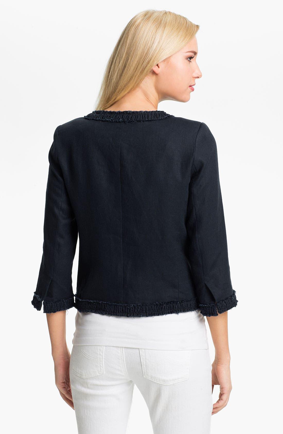 Alternate Image 2  - MICHAEL Michael Kors Linen Jacket