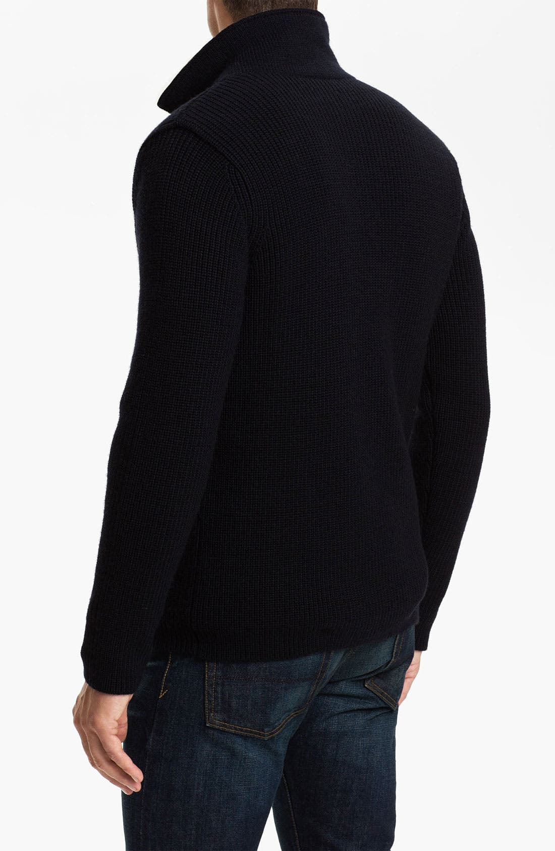 Alternate Image 2  - Vince Double Breasted Wool Sweater