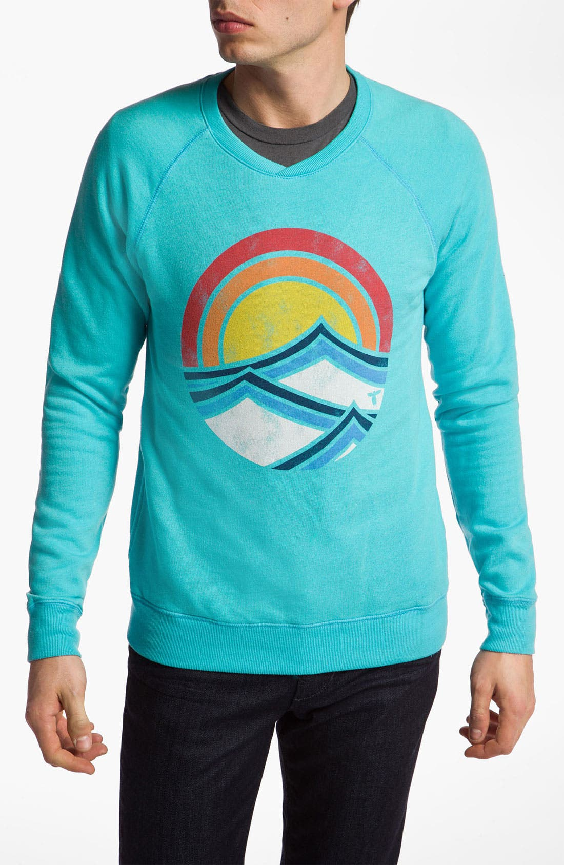 Alternate Image 1 Selected - Topo Ranch 'Swell Rise' Crewneck Sweatshirt