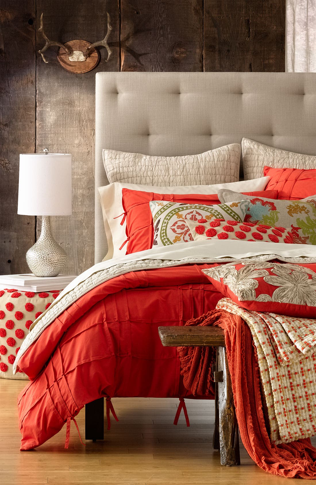 Alternate Image 2  - Villa Home Collection 'Triumph Floral' Pillow