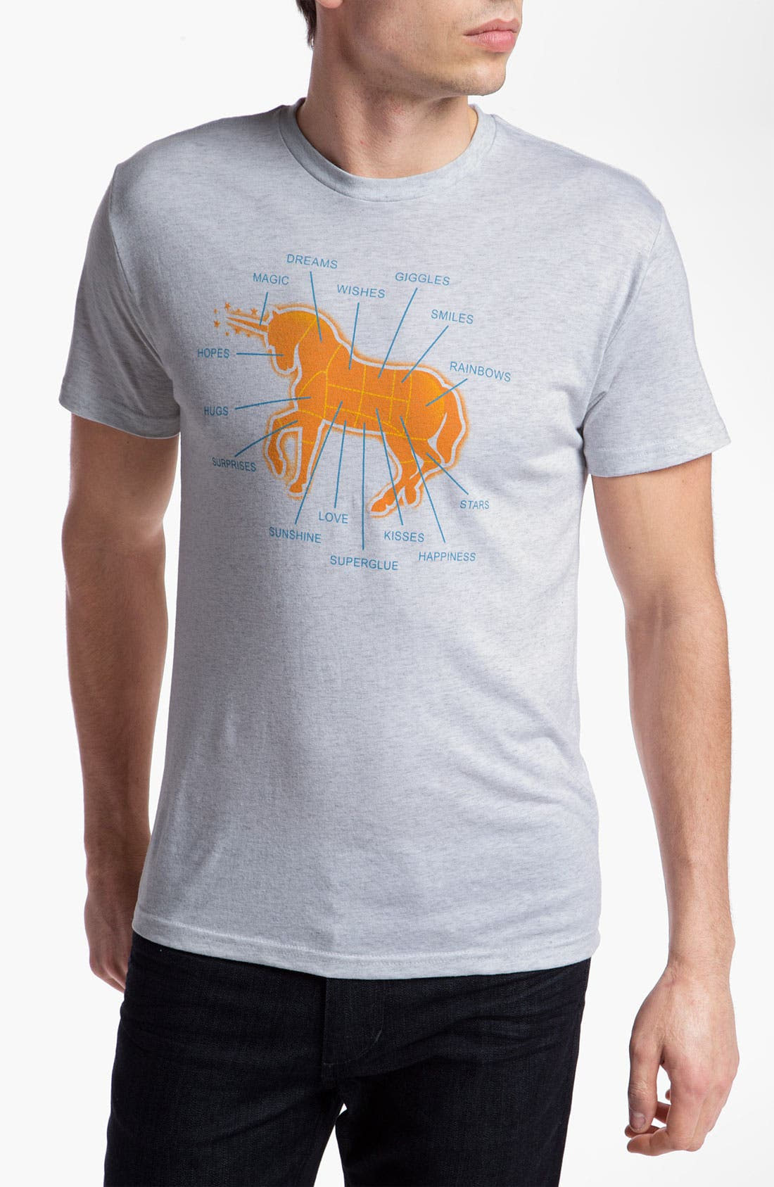Alternate Image 1 Selected - DiLascia 'Unicorn' Graphic T-Shirt