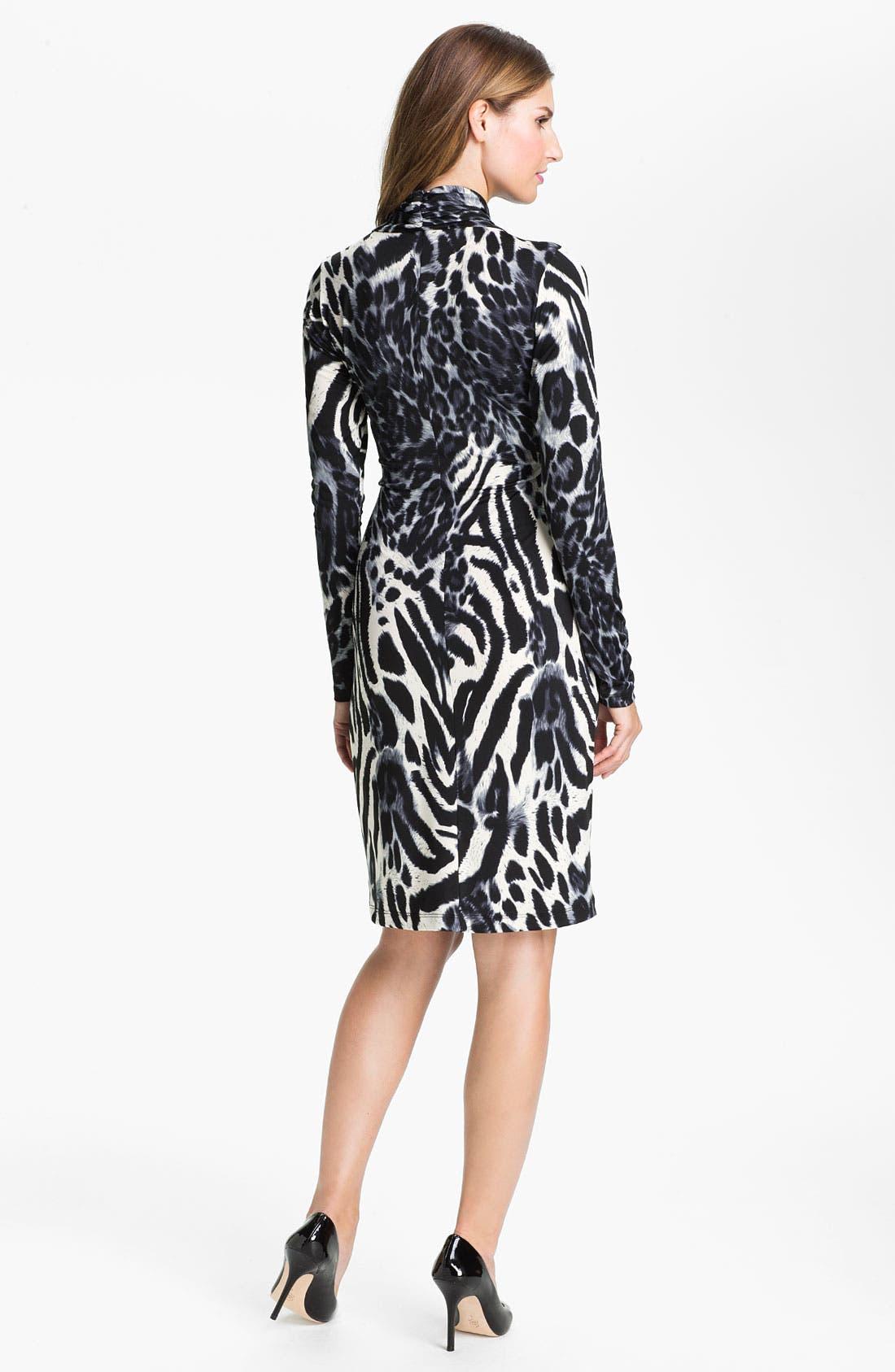 Alternate Image 2  - Karen Kane Faux Wrap Dress (Online Exclusive)