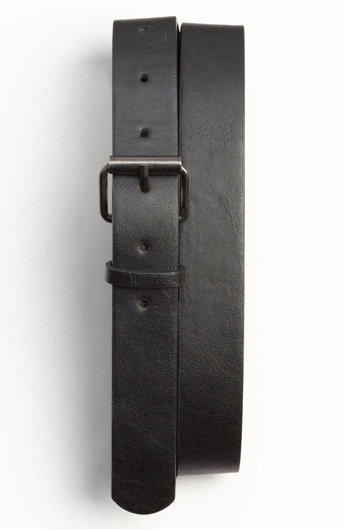 Alternate Image 1 Selected - Topman Slim Belt
