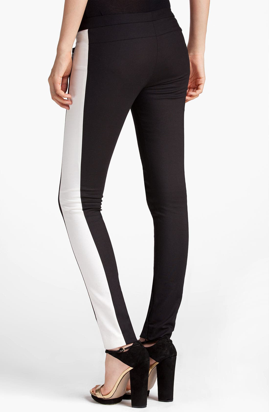 Alternate Image 2  - MSGM Skinny Side Stripe Pants