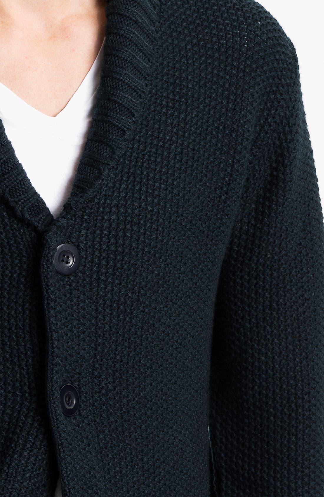 Alternate Image 3  - Obey 'Carver' Shawl Collar Cardigan