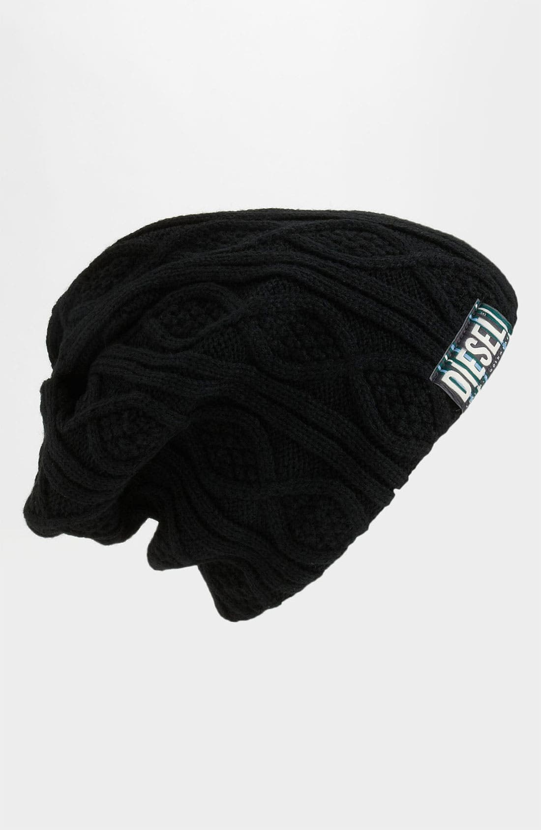 Alternate Image 1 Selected - DIESEL® 'Krissyet' Cable Knit Cap