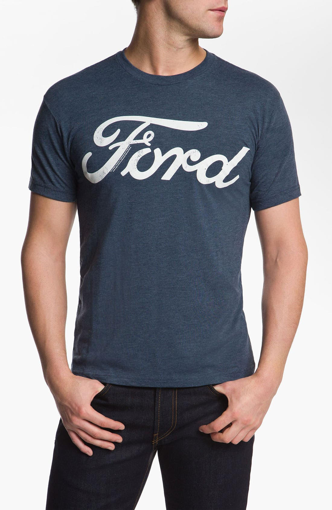 Alternate Image 1 Selected - Free Authority 'Ford Logo' Graphic T-Shirt