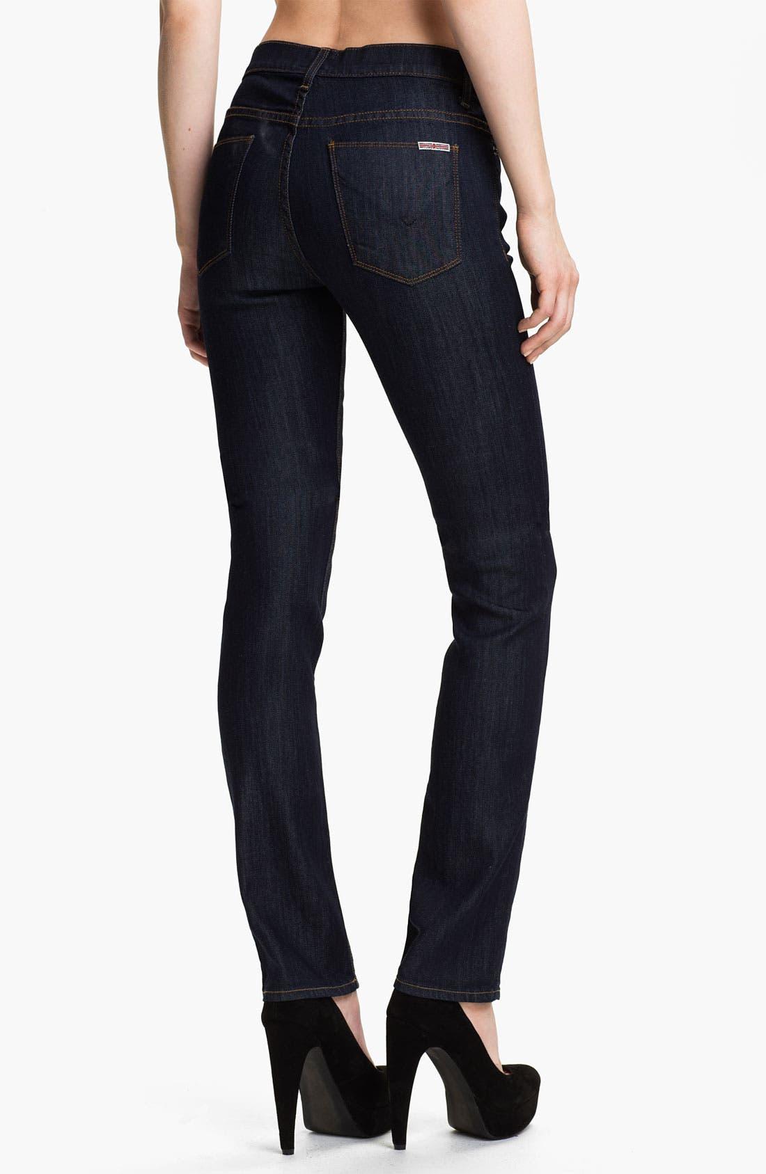 Alternate Image 2  - Hudson Jeans 'Tilda' Straight Leg Stretch Jeans (Finch)