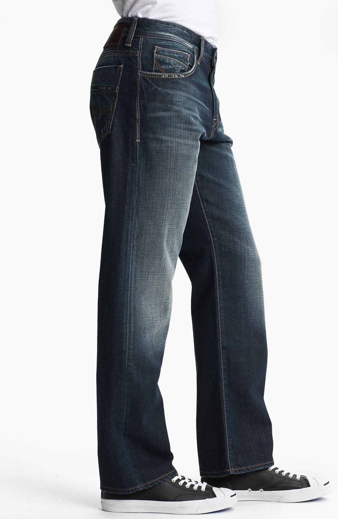 Alternate Image 3  - Mavi Jeans 'Matt' Relaxed Straight Leg Jeans (Used American Vintage)